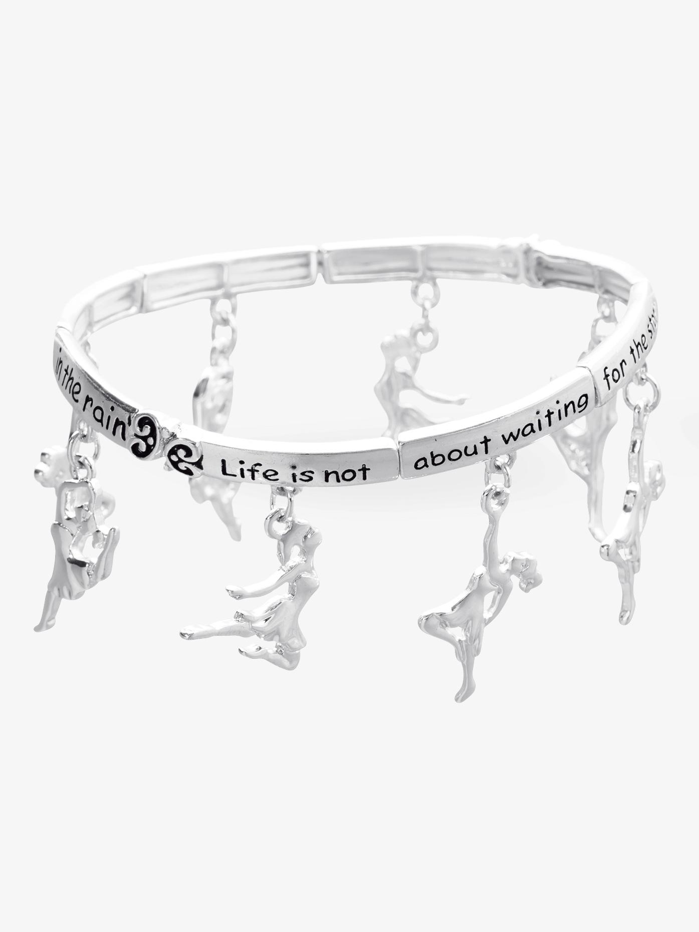 Dasha Dance Inspirational Charm Bracelet 2750