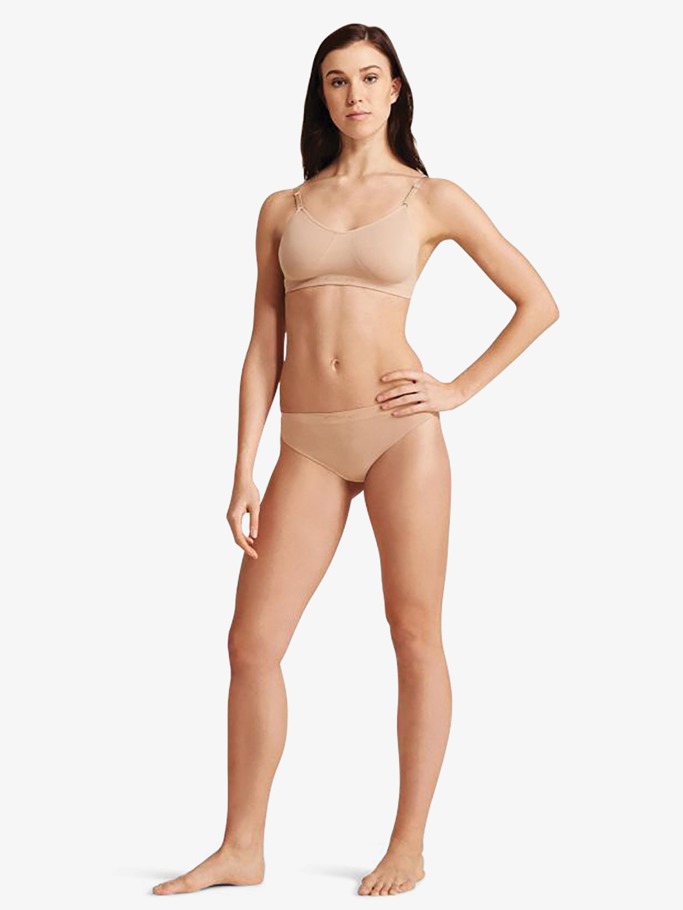 Capezio Adult Seamless Low Rise Thong 3678