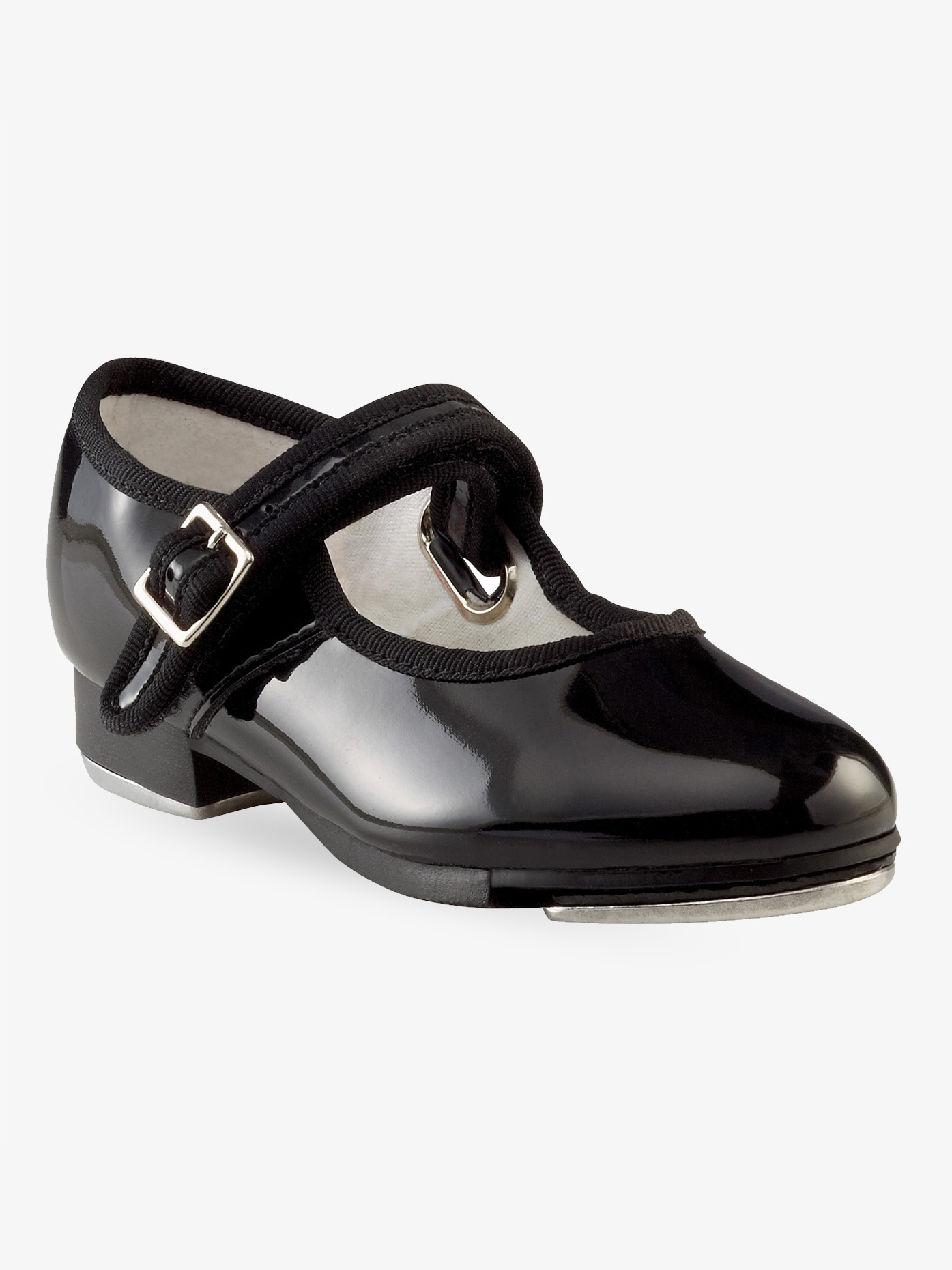 Capezio Adult Mary Jane Buckle Strap Tap Shoes 3800