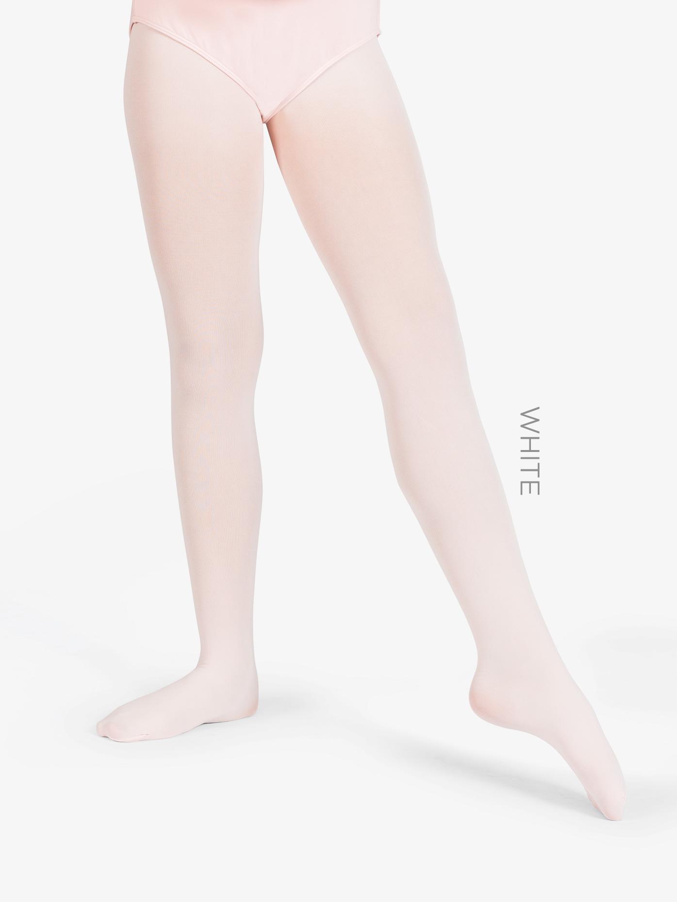 Danskin Girls Ultrasoft Microfiber Footed Tights 387