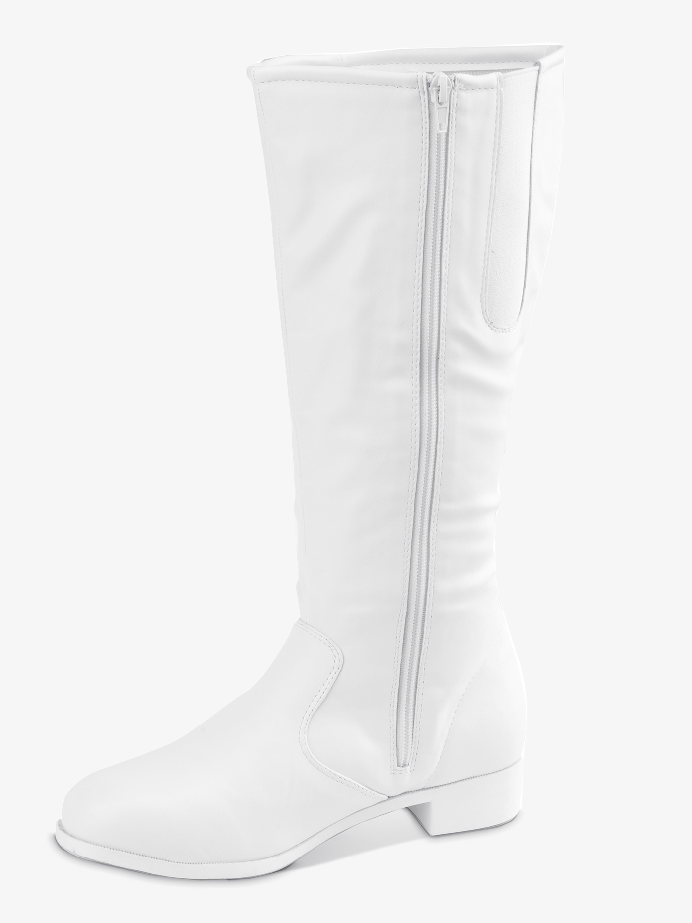 Getz Adult Dallas Knee High Boot White 433