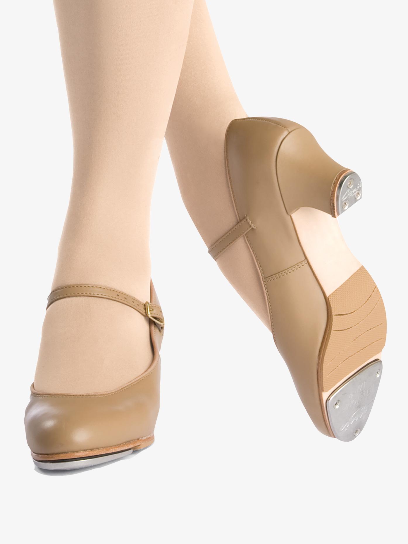Capezio Adult Leather Jr. Footlight 1.5 Heel Tap Shoes 561