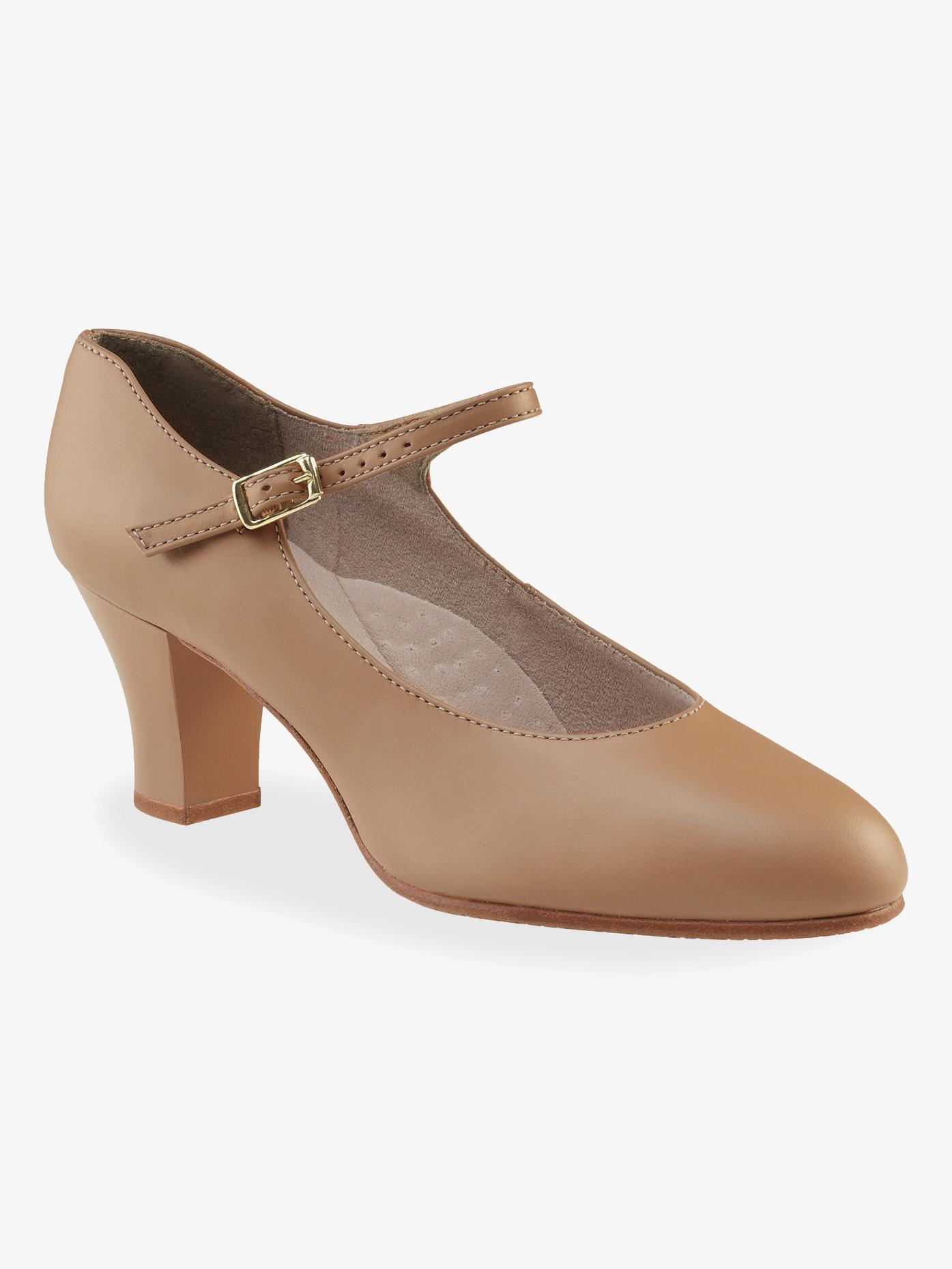 Capezio Adult Student Footlight 2 Heel Character Shoes 650