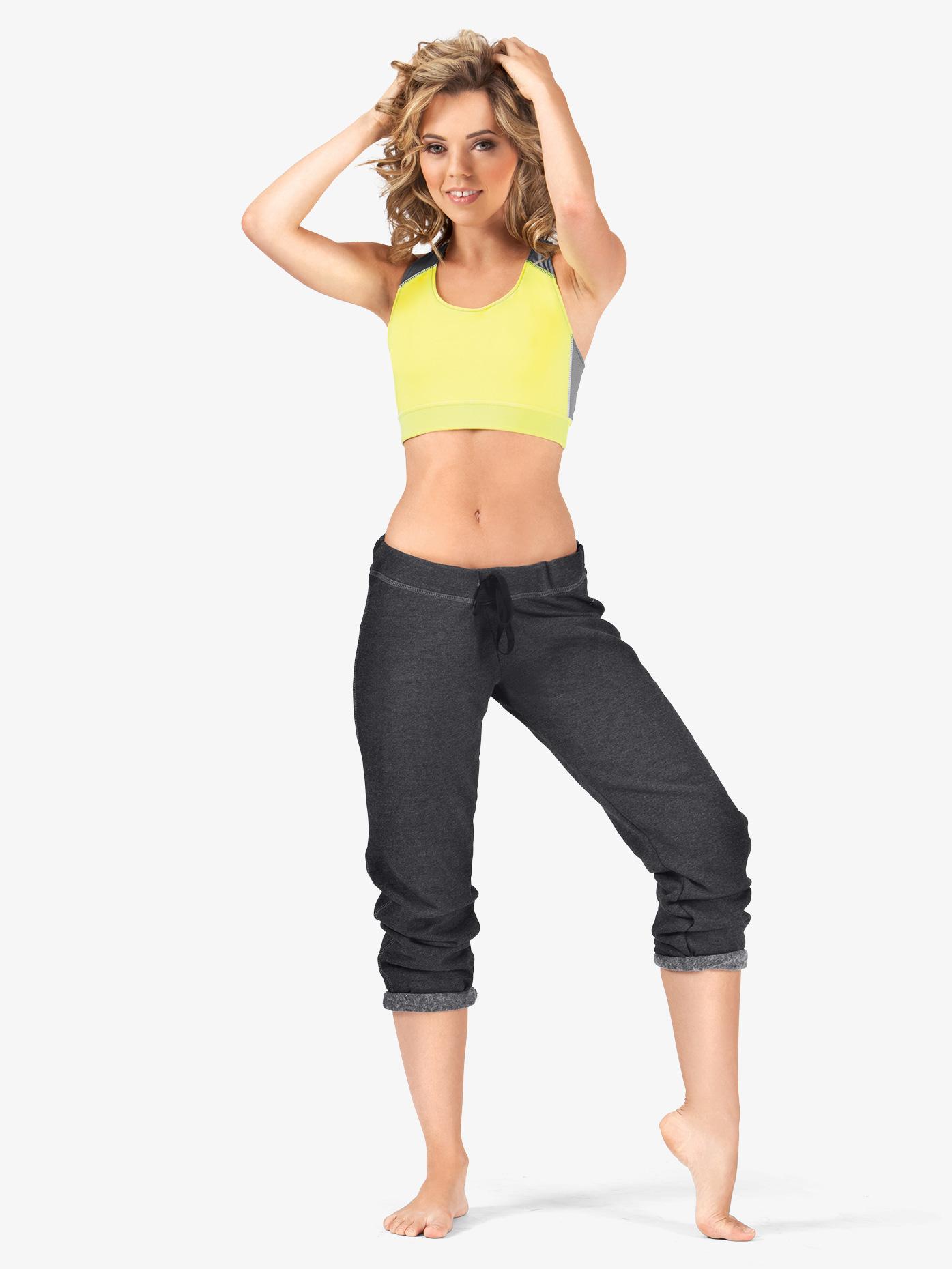 Soffe Adult Capri Sweat Pants 7633V