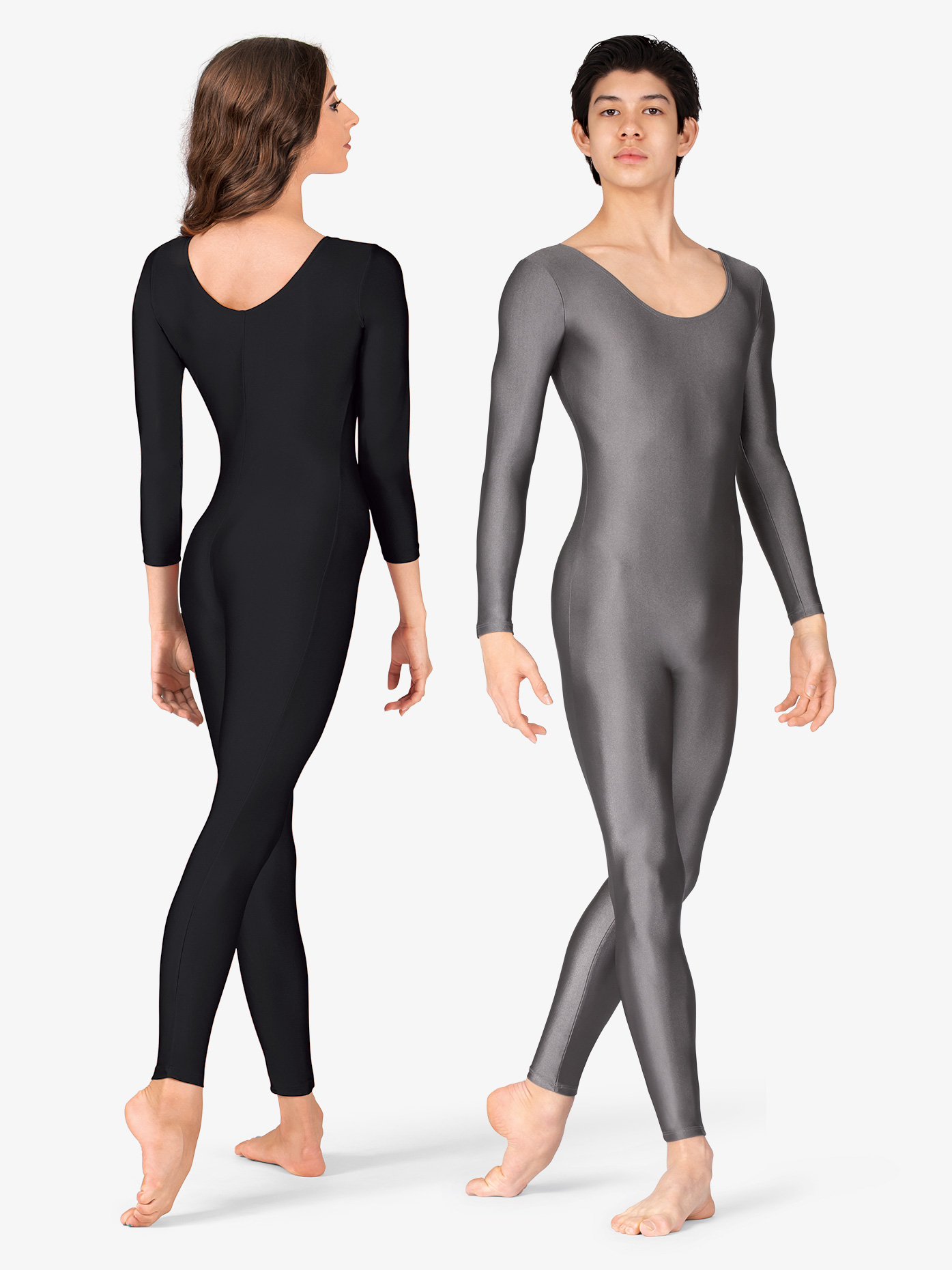 BalTogs Scoop Neck Nylon Long Sleeve Unitard 811