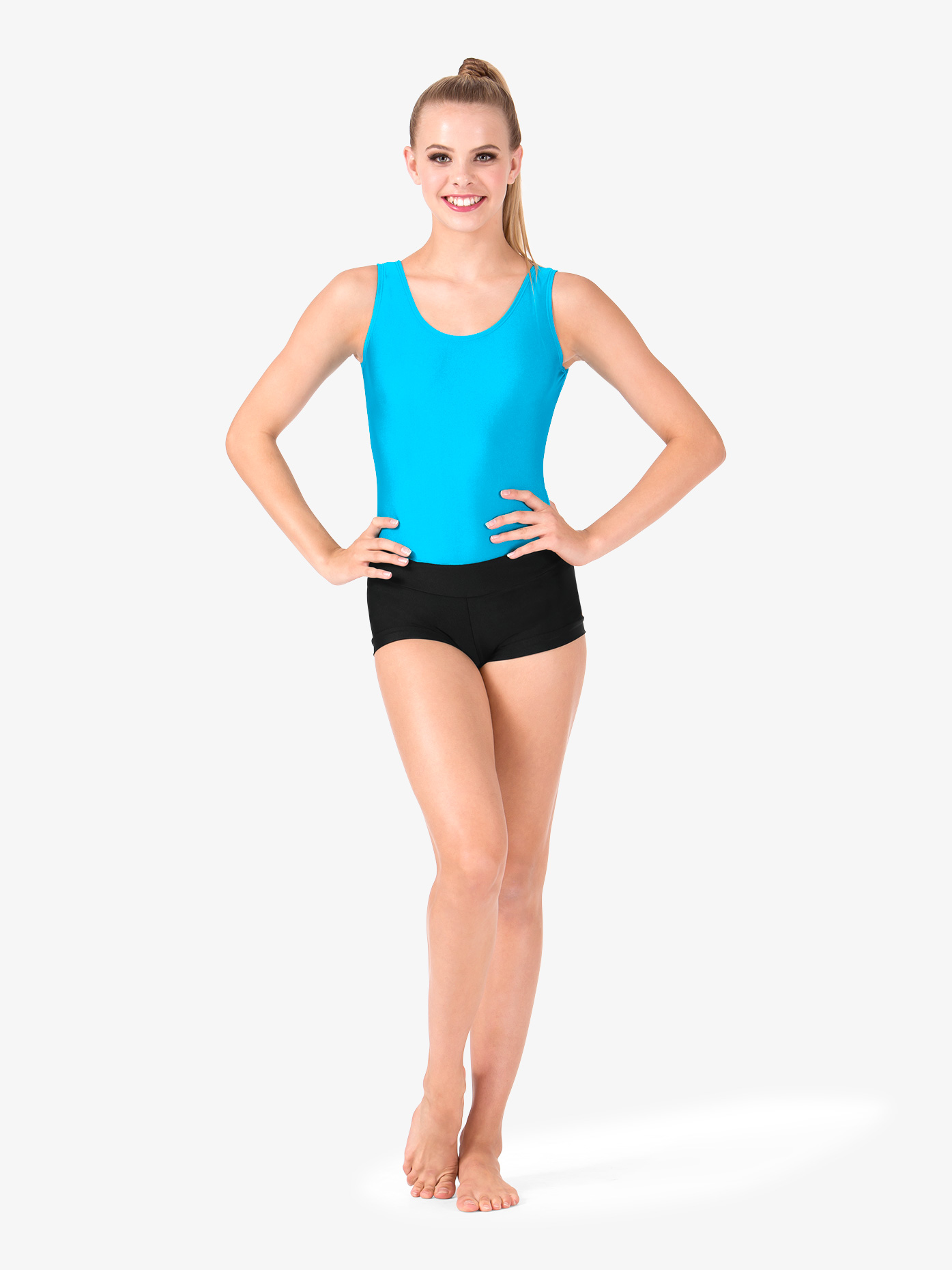 2cddc71334 Nylon Tank Thong Leotard - Class Basics