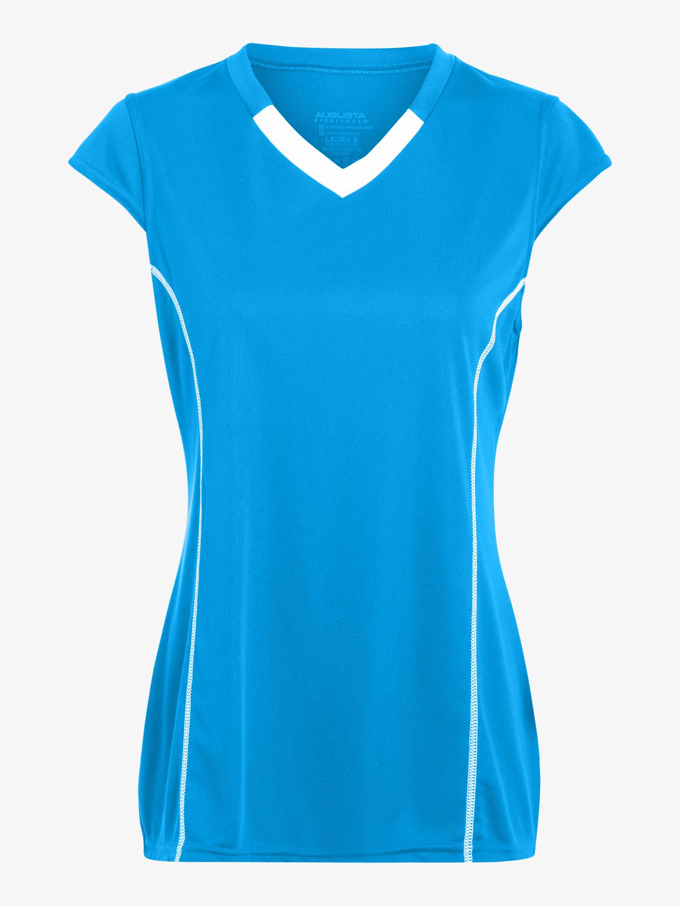 Augusta Womens Cap Sleeve Jersey Tee AUG1218E