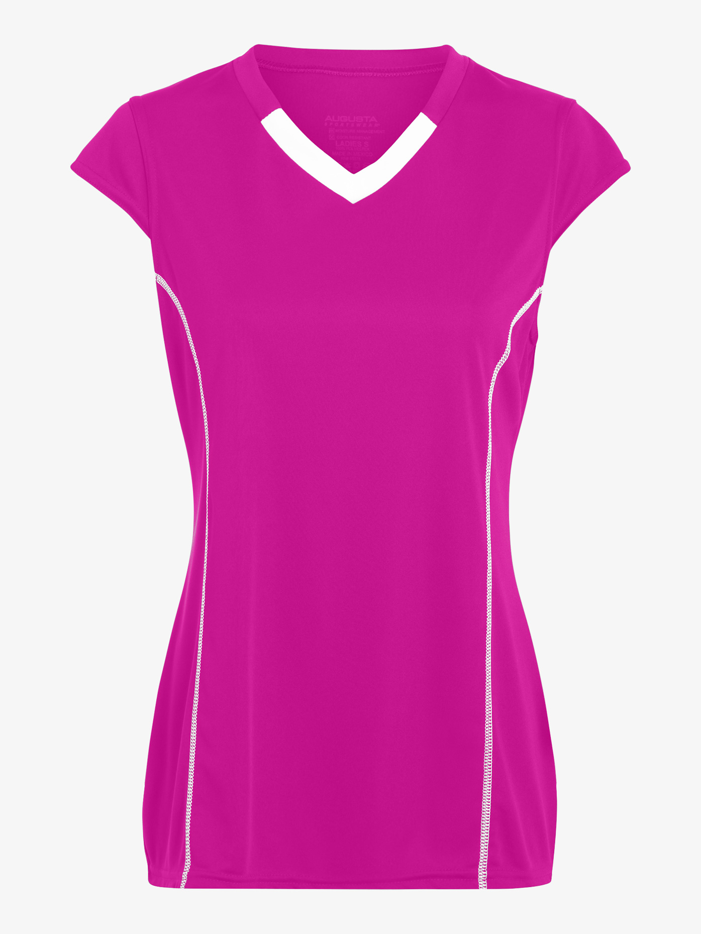 Augusta Girls Cap Sleeve Jersey Tee AUG1219E