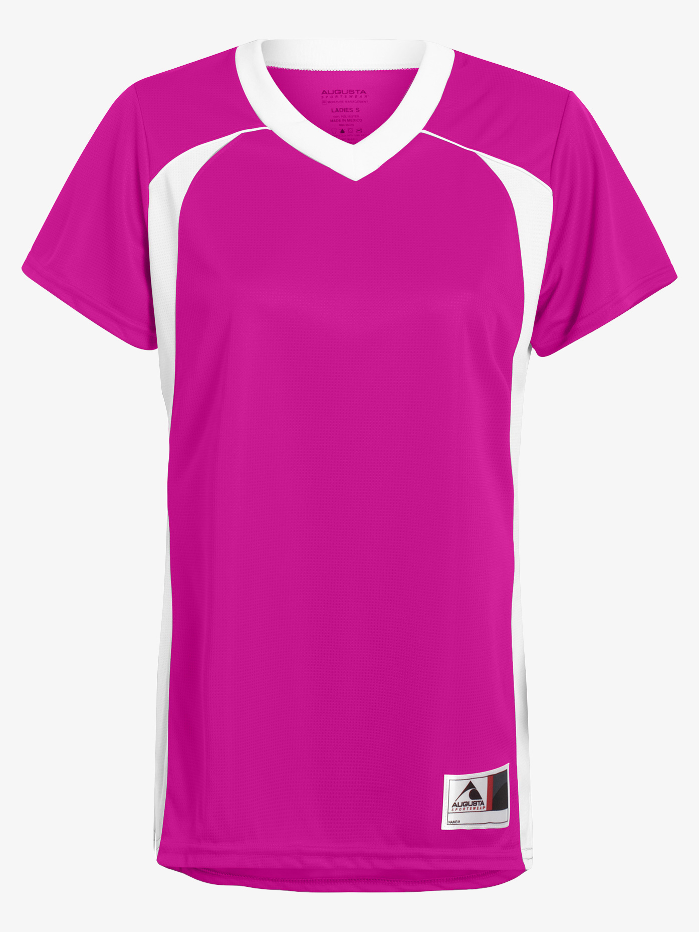 Augusta Girls Short Sleeve Jersey Top AUG263E