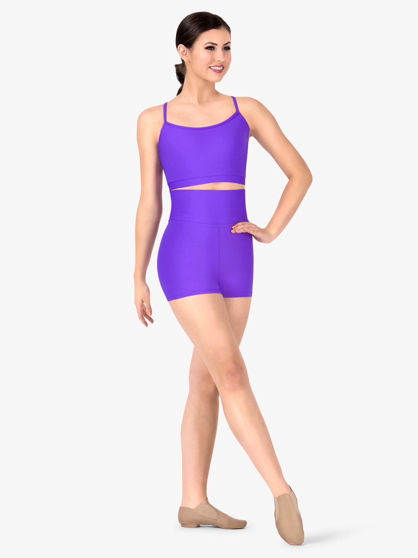 BalTogs Womens Plus Size Team Basic SilkTech Dance Shorts BT5205P