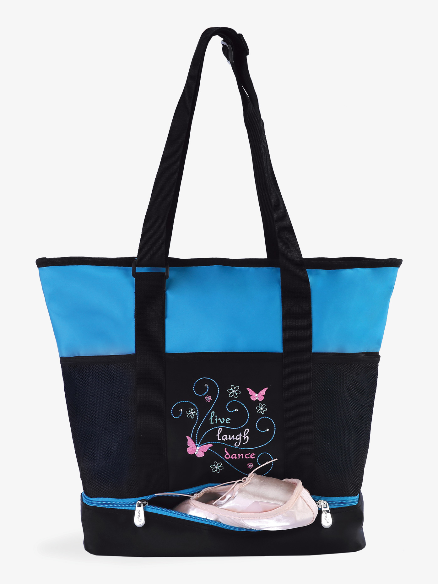 Sassi Live Laugh Dance Tote Bag LLD01