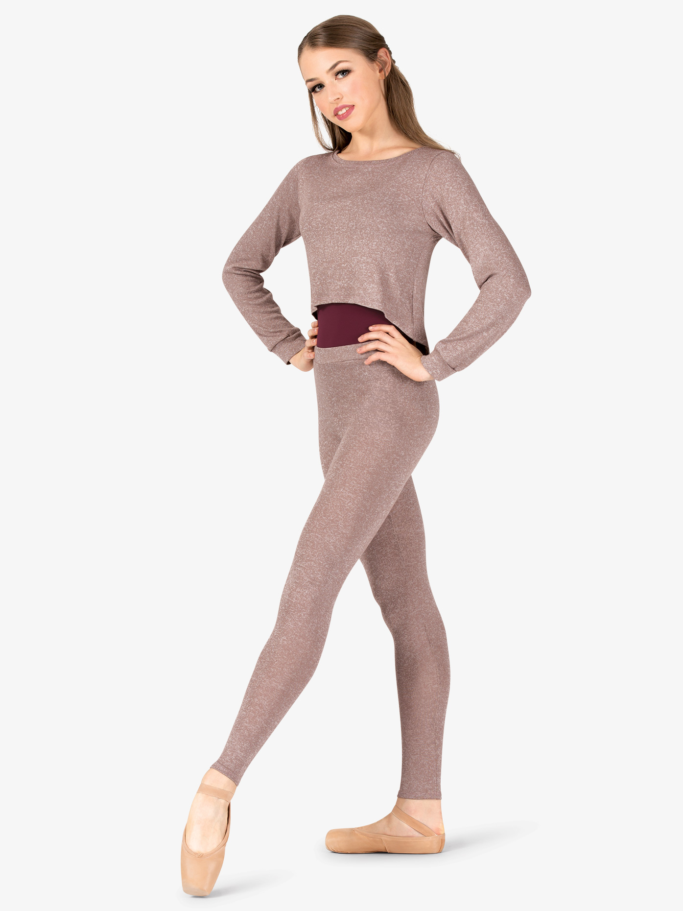 Natalie Womens Warm Up Leggings N9083