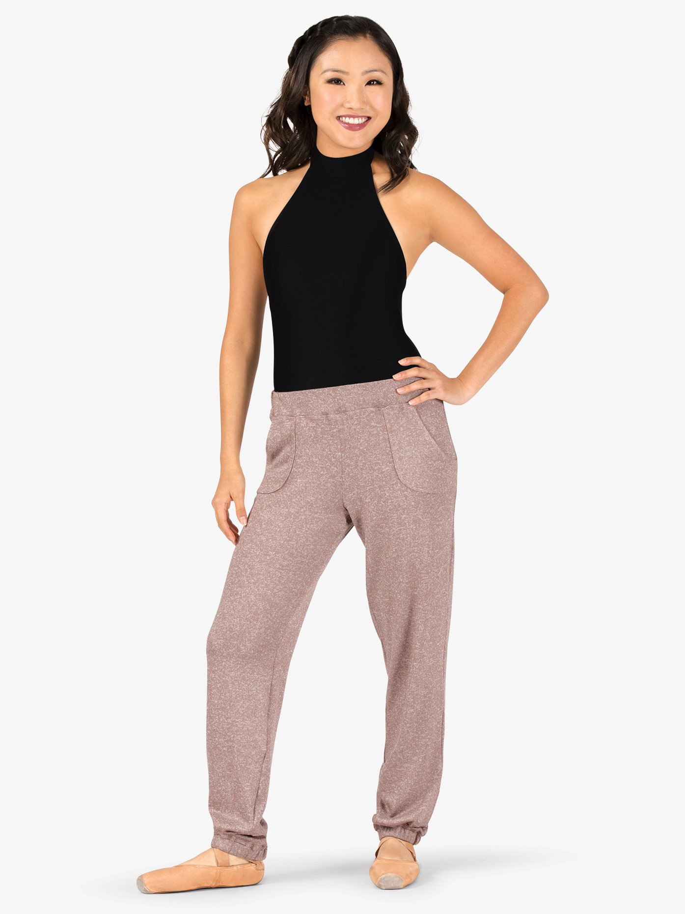 Natalie Womens Cuffed Warm Up Pants N9085