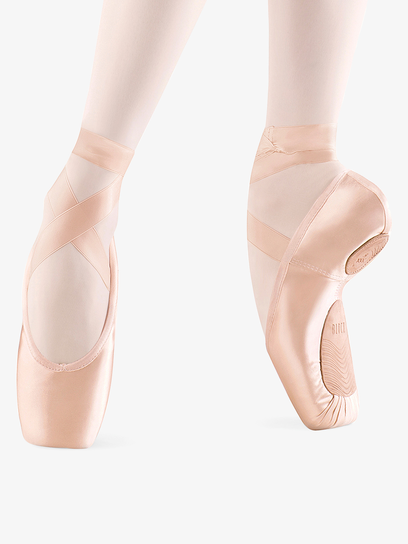 Bloch Womens Dramatica II Satin Pointe Shoes S01732L