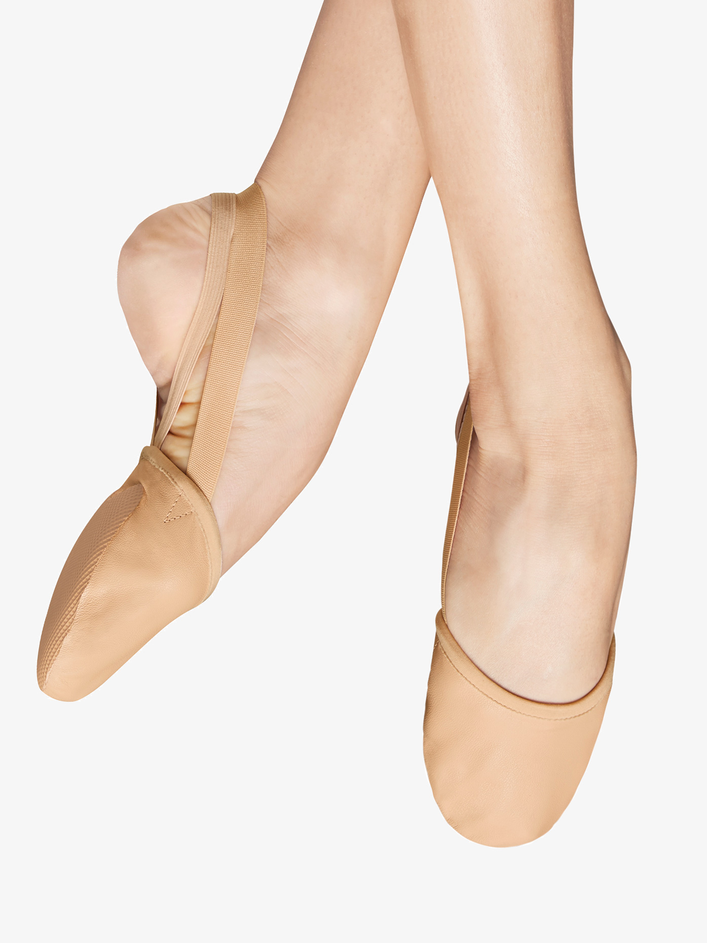 Bloch Womens Revolve Lyrical Leather Half Sole S0607L