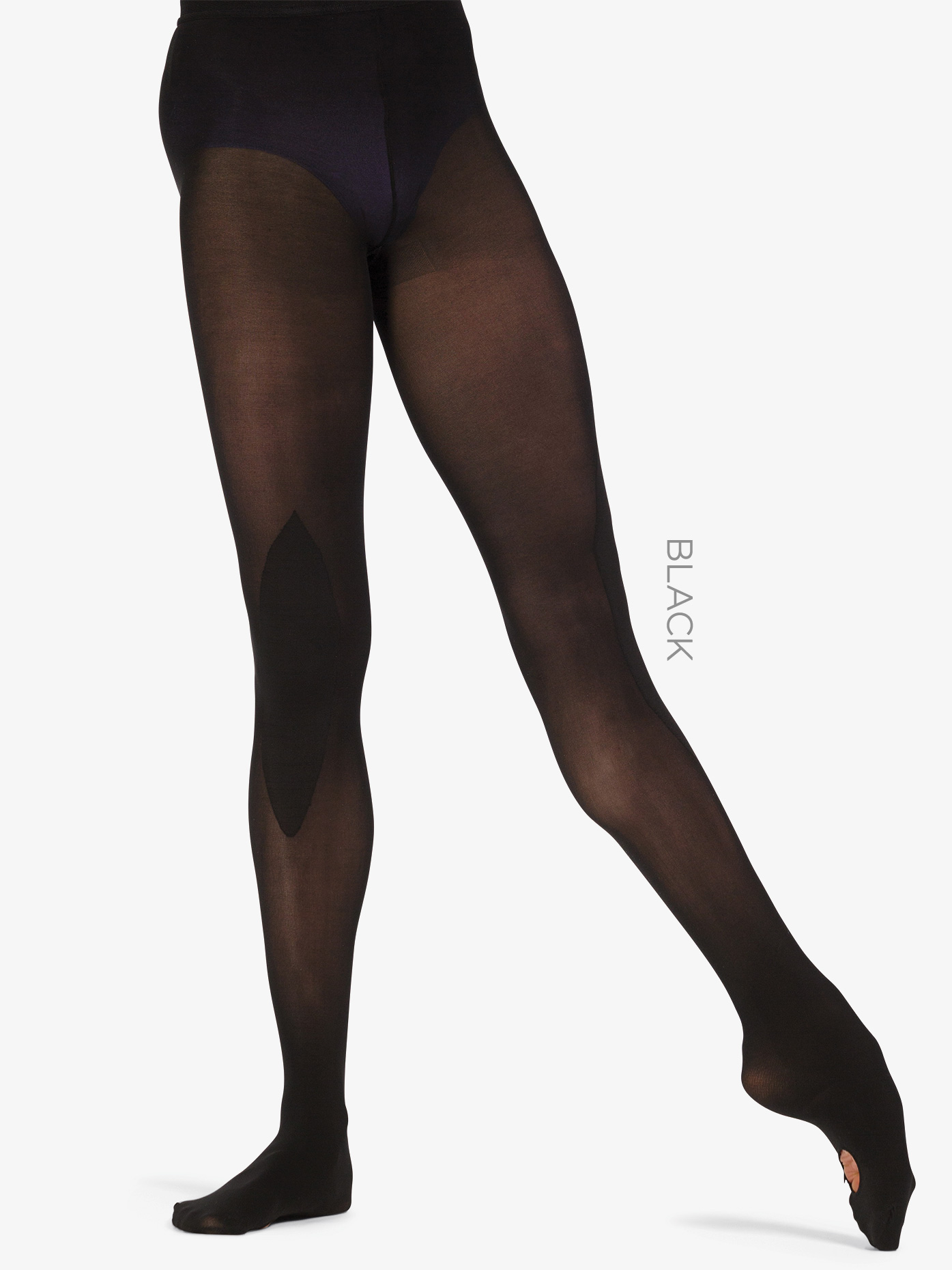 Zarely Womens Rehearsal Convertible Tights Z1