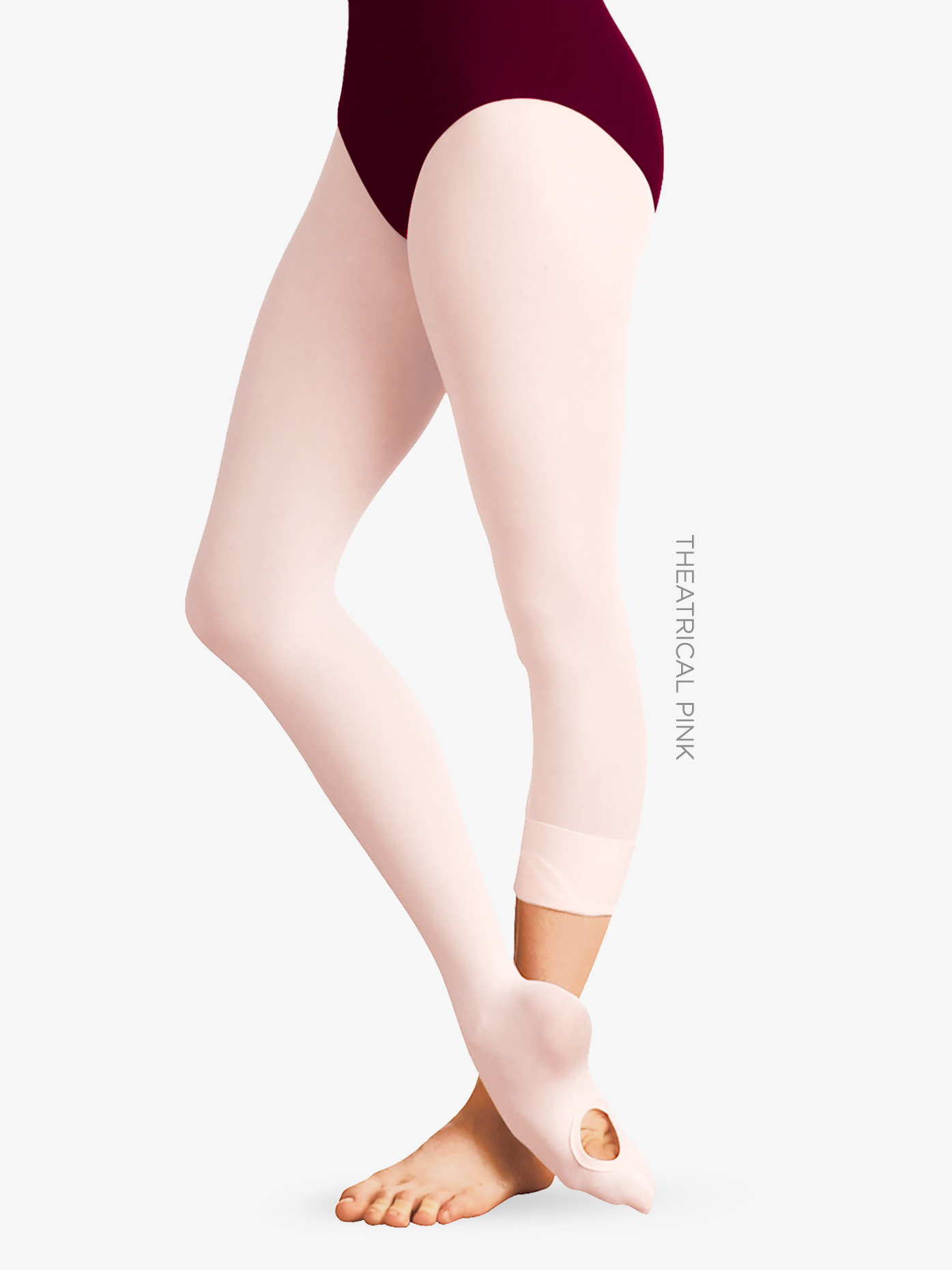 Body Wrappers Adult totalSTRETCH Convertible Tights A31