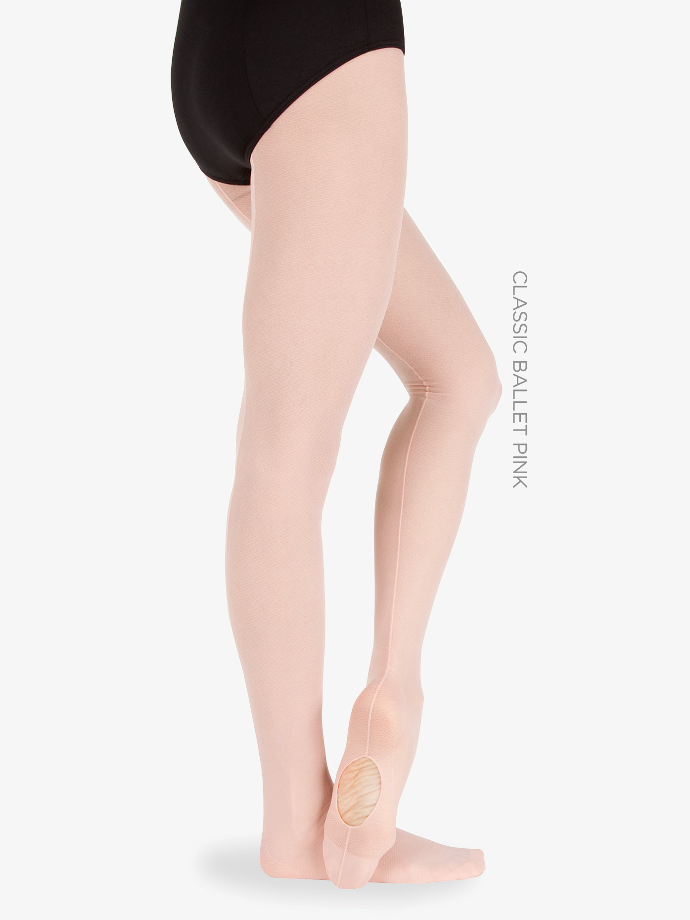 Body Wrappers Adult Convertible Seamed Mesh Tights A46