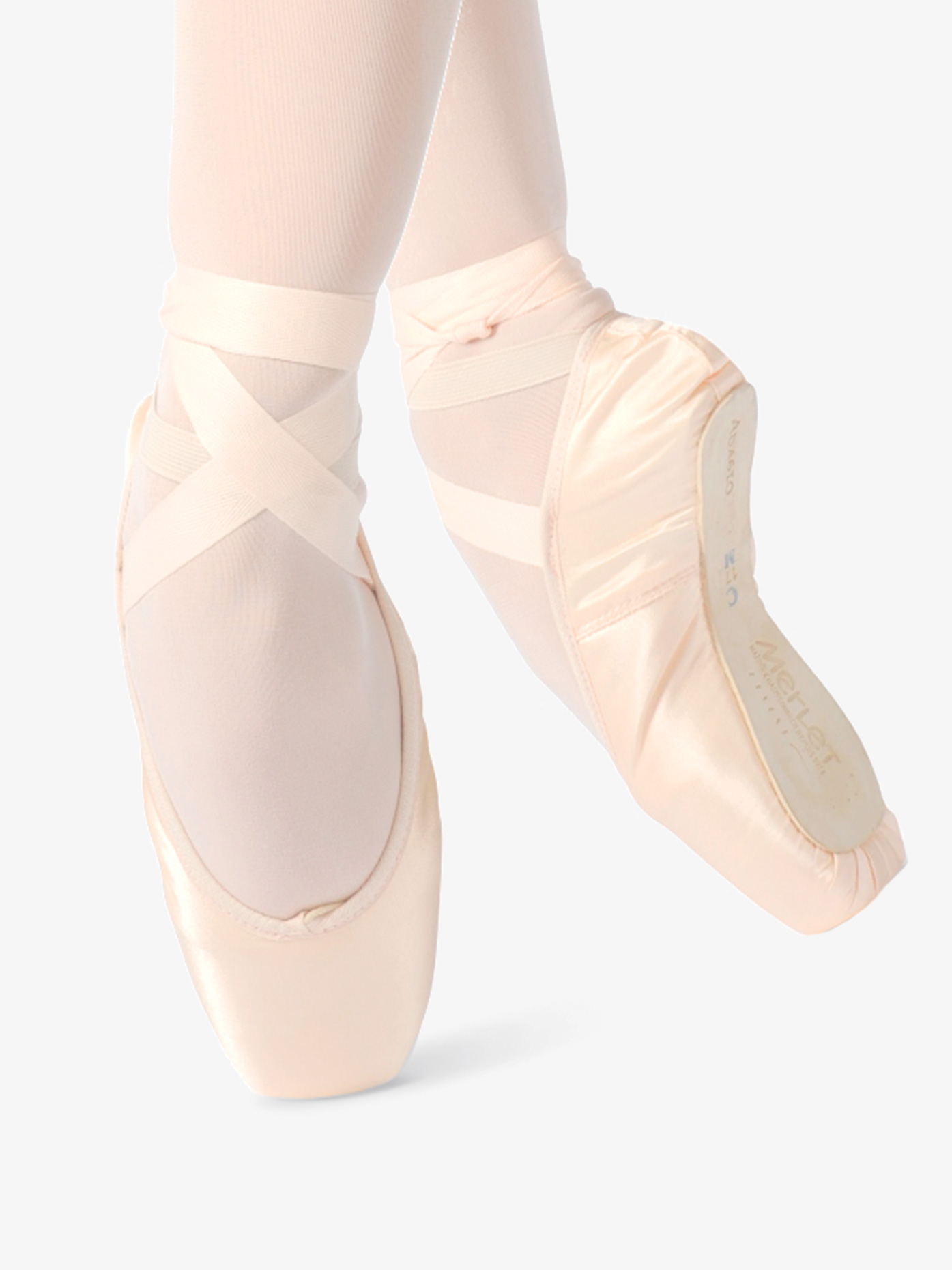 Merlet Womens Adagio Satin Pointe Shoes ADAGI