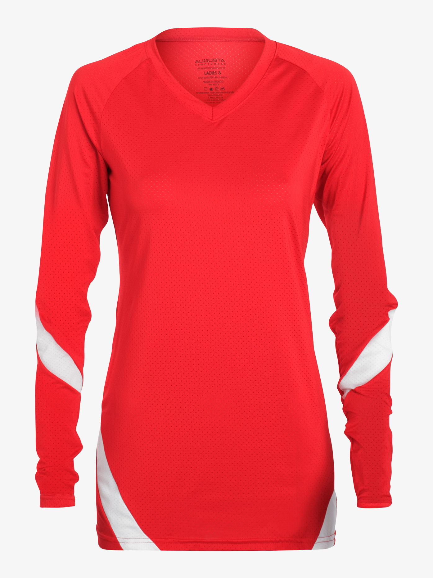 Augusta Girls Mesh Long Sleeve Fitness Top AUG1326E