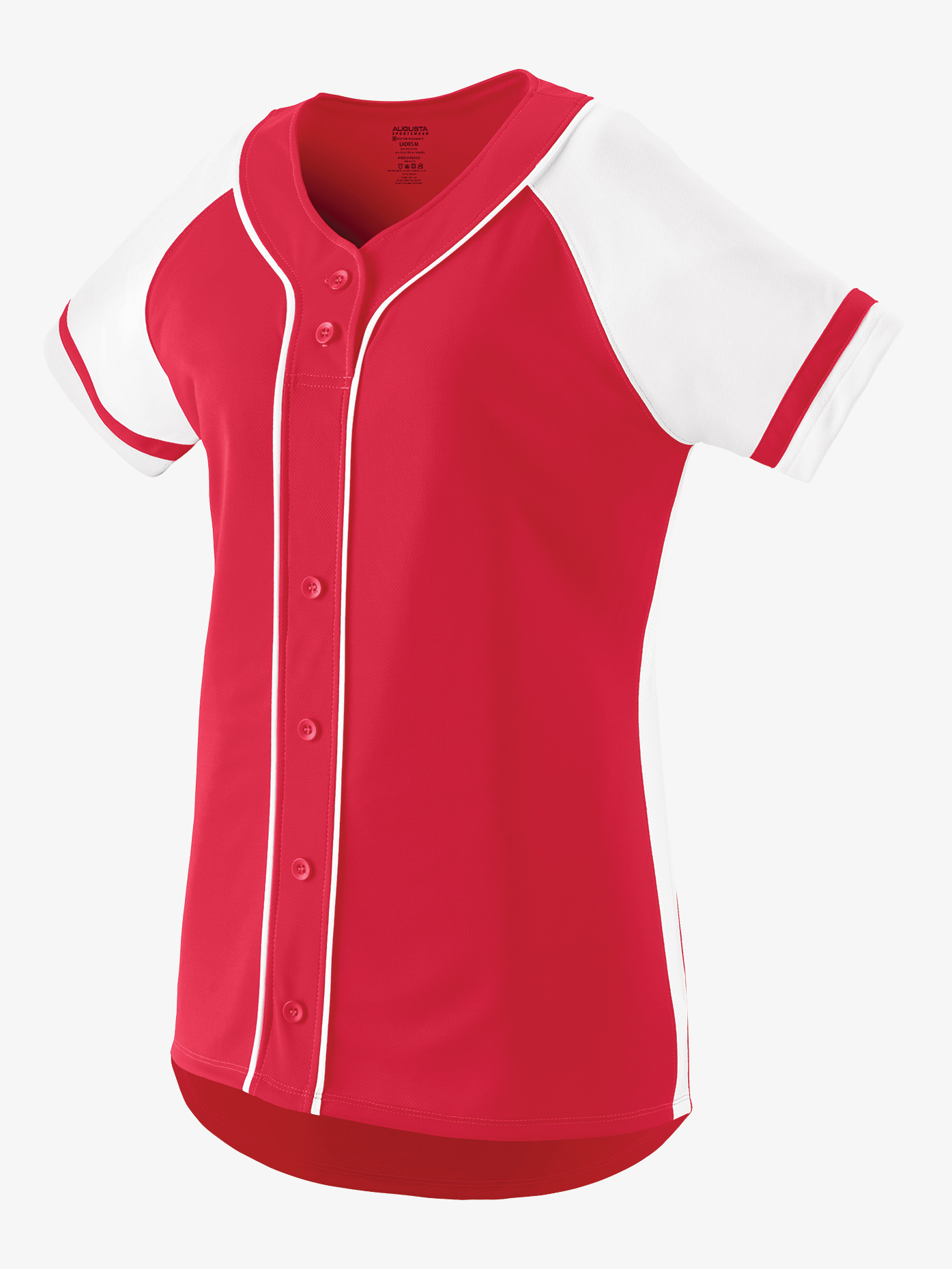 Augusta Girls Softball Style Jersey Top AUG1666E