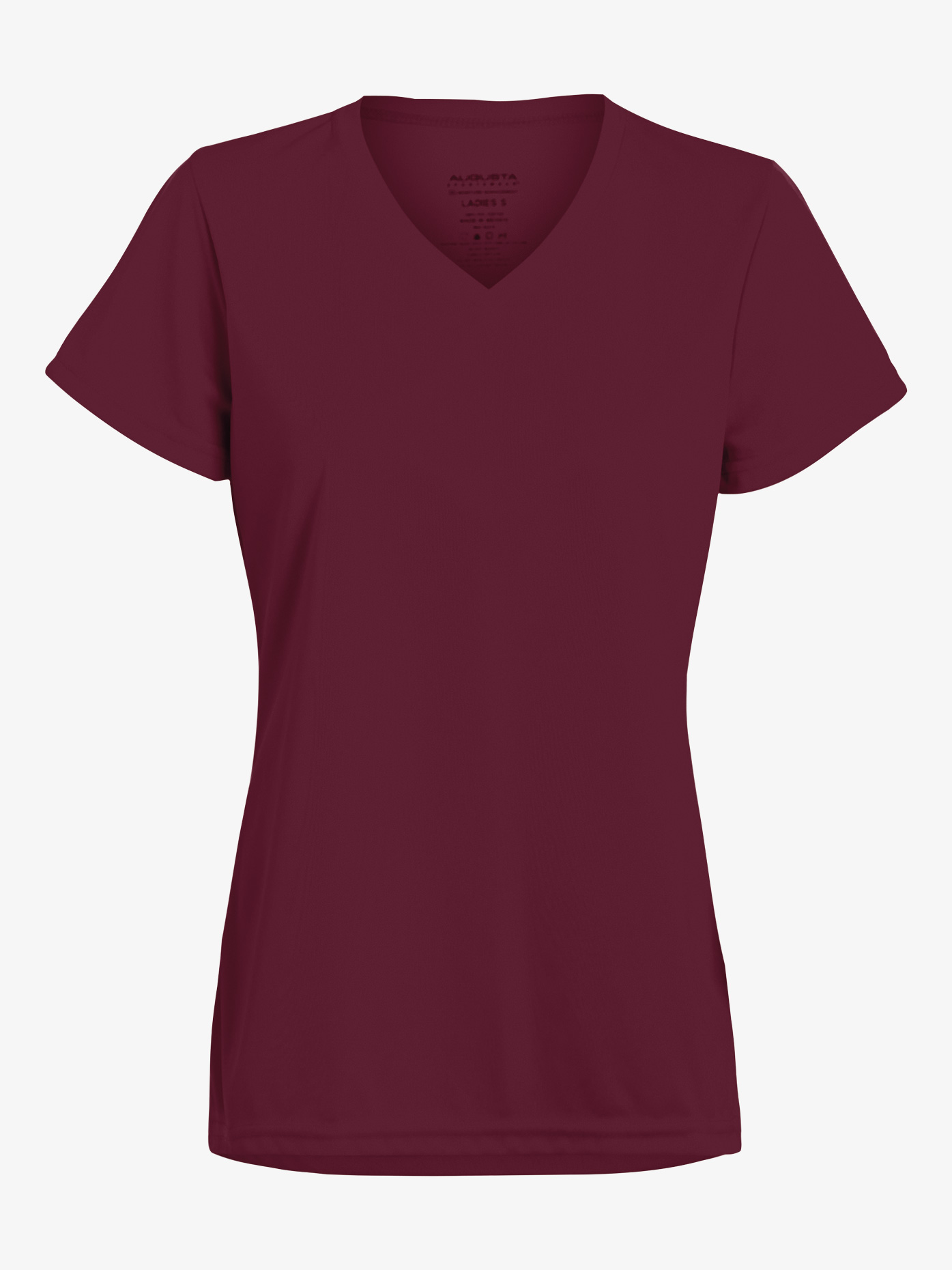Augusta Girls V-Front Short Sleeve Workout Tee AUG1791E
