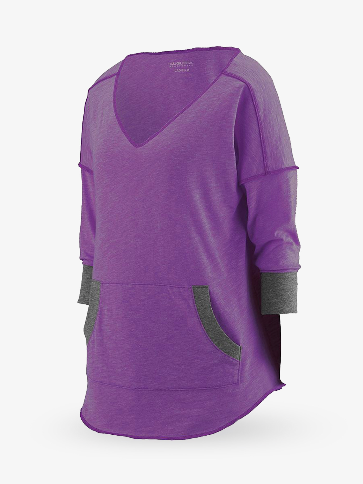 Augusta Ladies Long Sleeve Slub Tee AUG3005