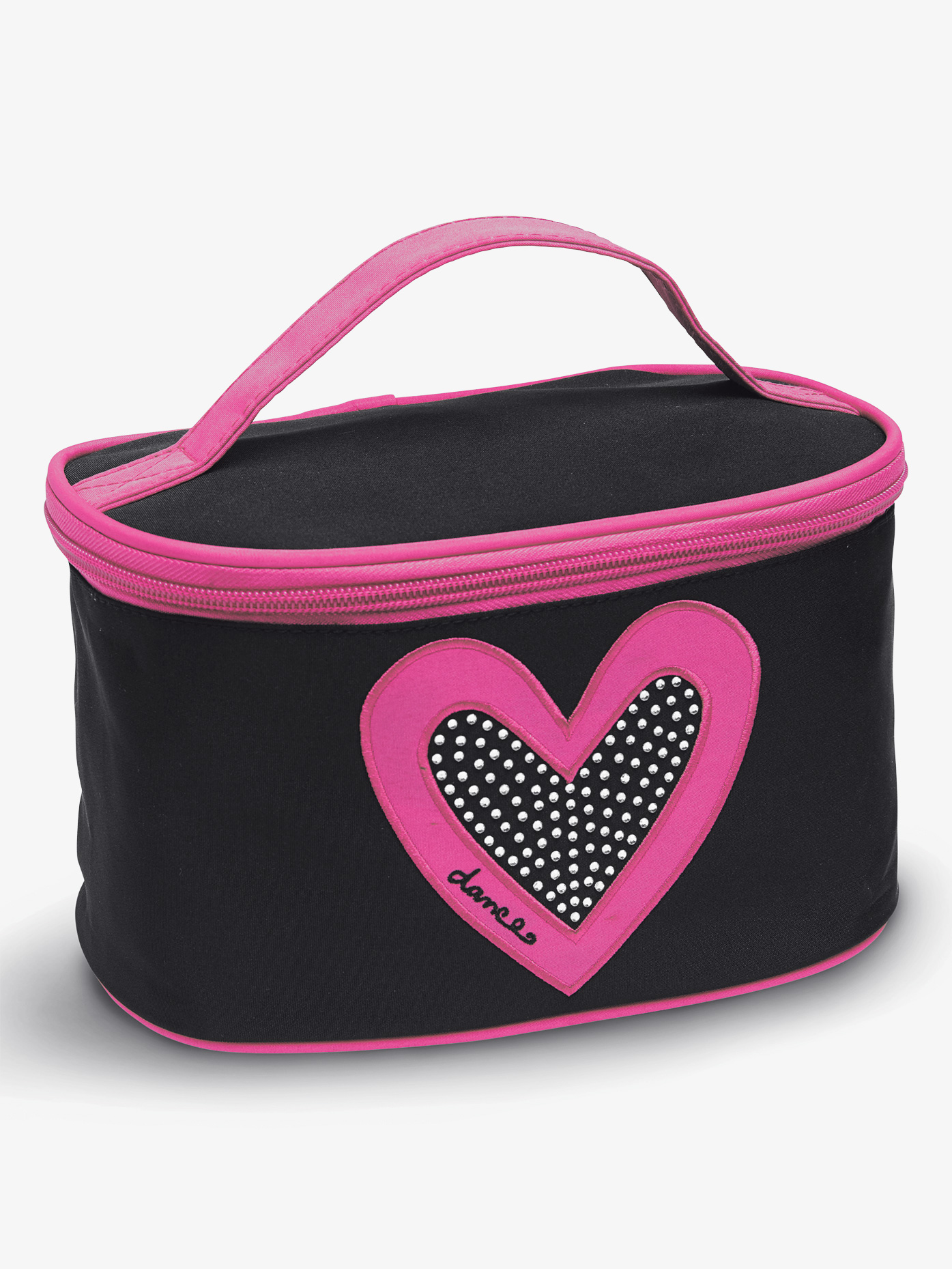DansBagz I Heart Makeup Case B472BKHP