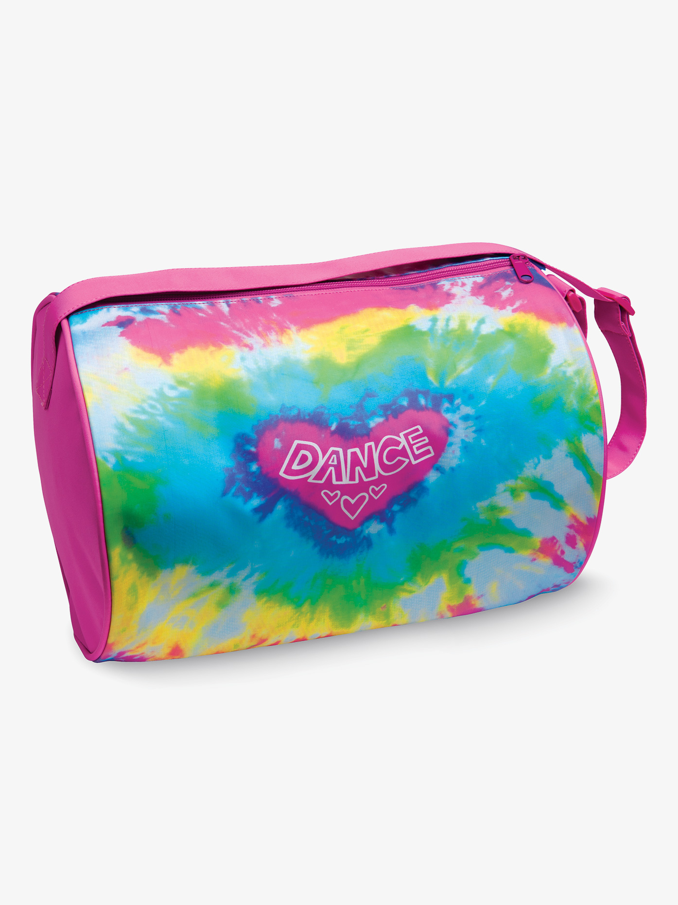 DansBagz Girls Love Tie Dye Duffle Bag B555