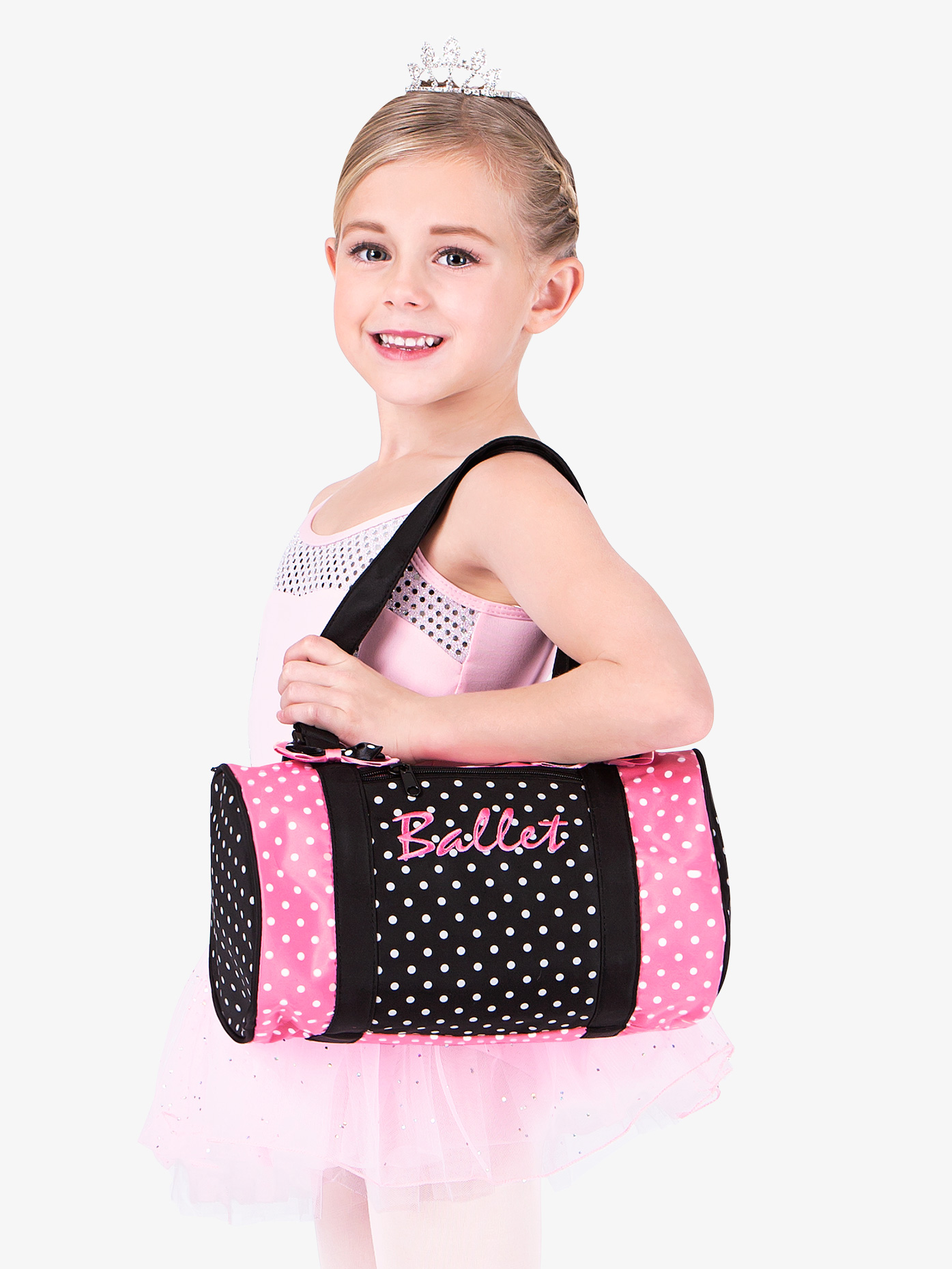 DansBagz Dancin' Dots Ballet Duffle Bag B560