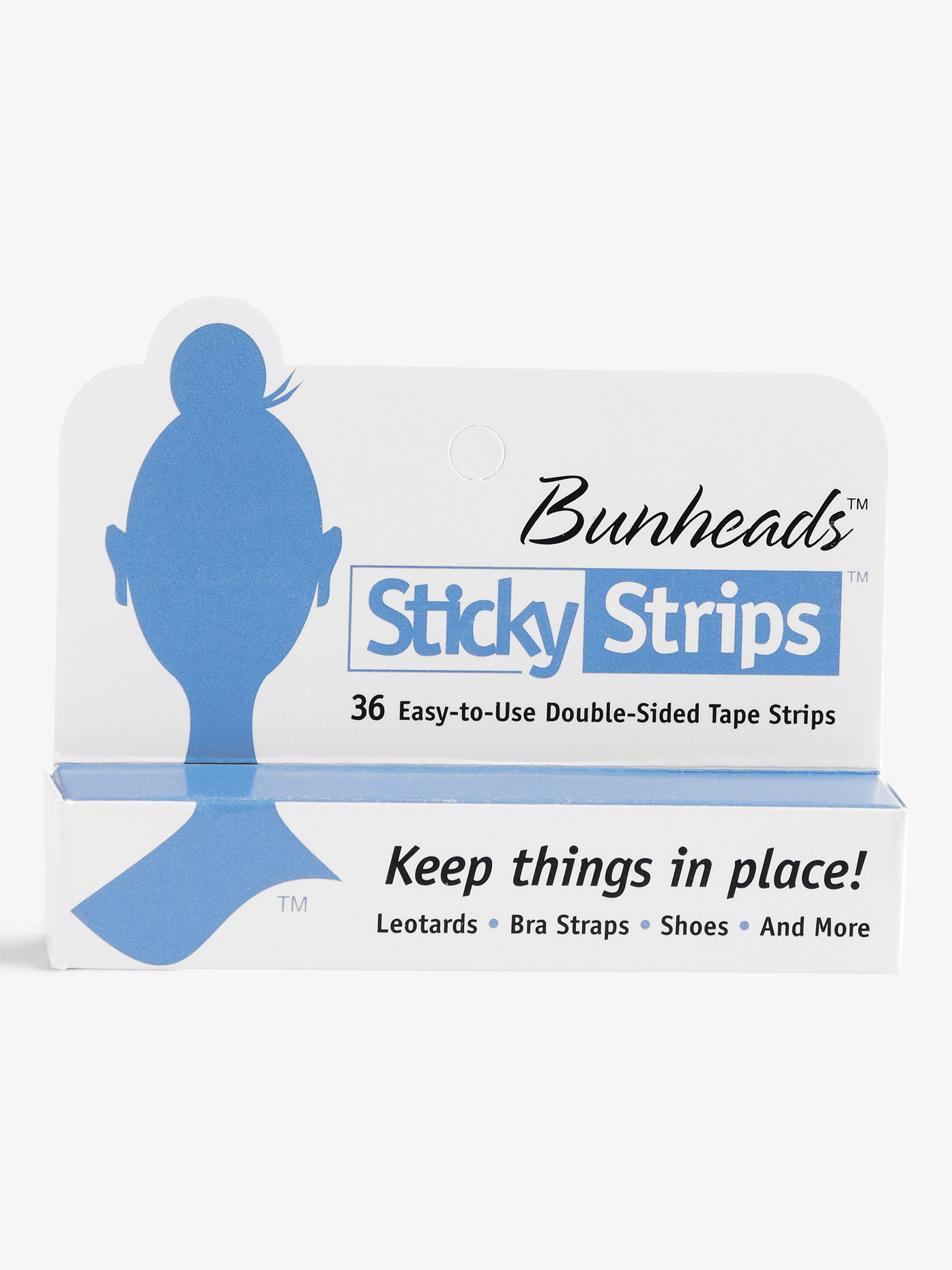 Capezio Sticky Strips Double-Sided Tape Strips BH365U