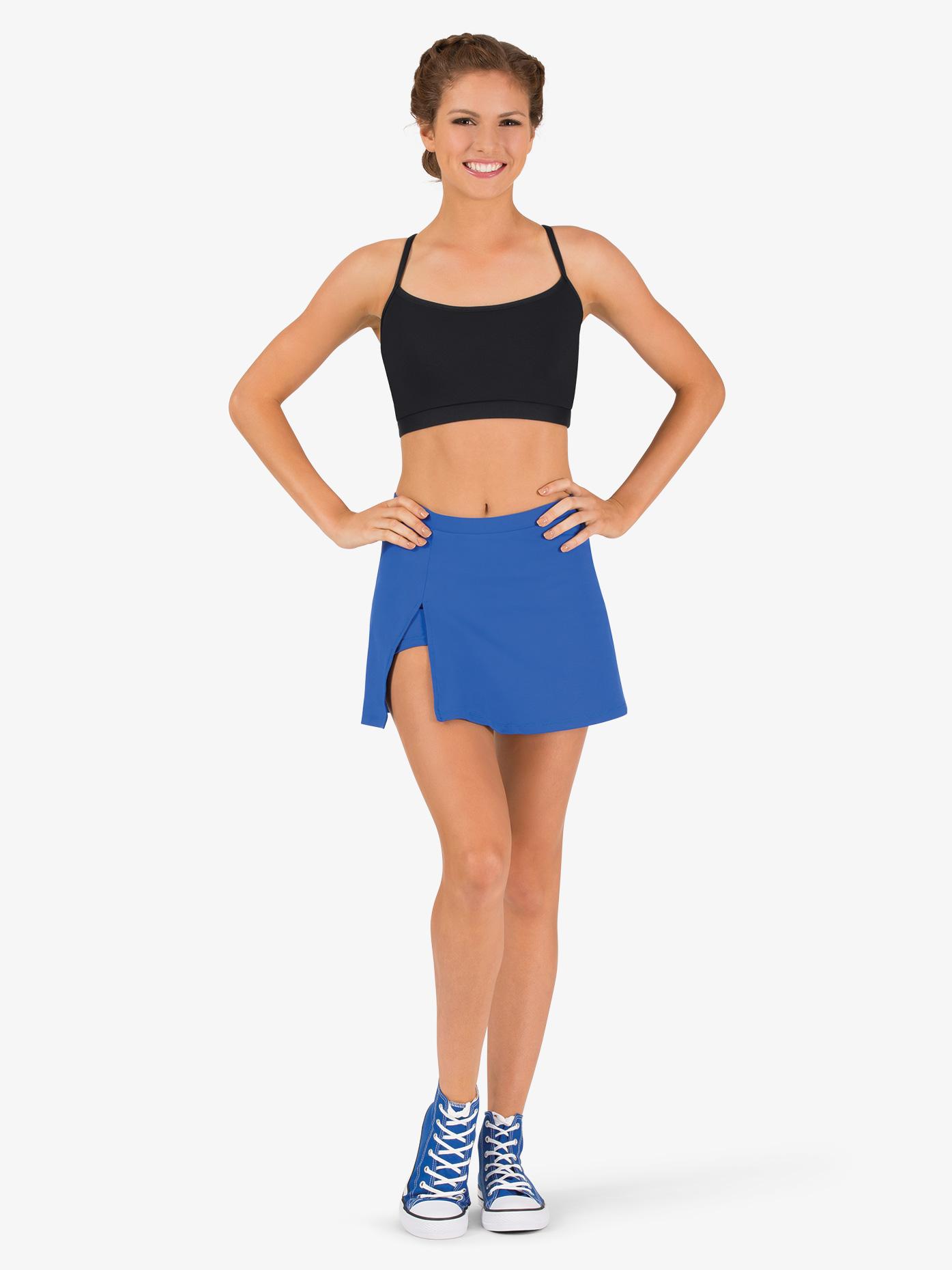 963b0f1ba9aa6 Womens Team Basic Compression Dance Skort - Style No BT5206. Loading zoom