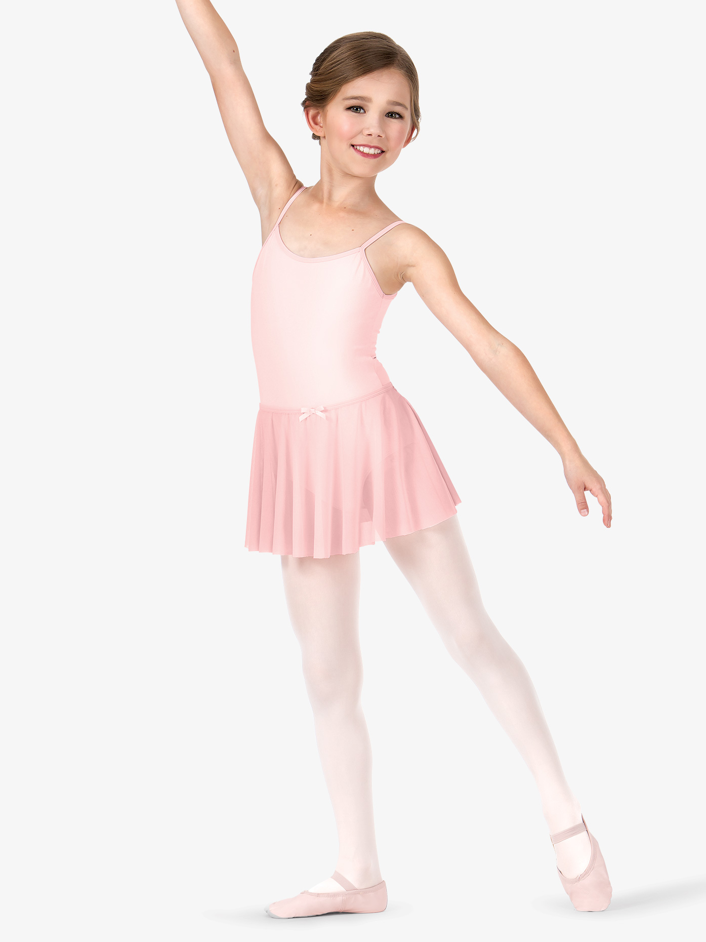 La Petite Ballerina Girls Mesh Pull-On Skirt C28484