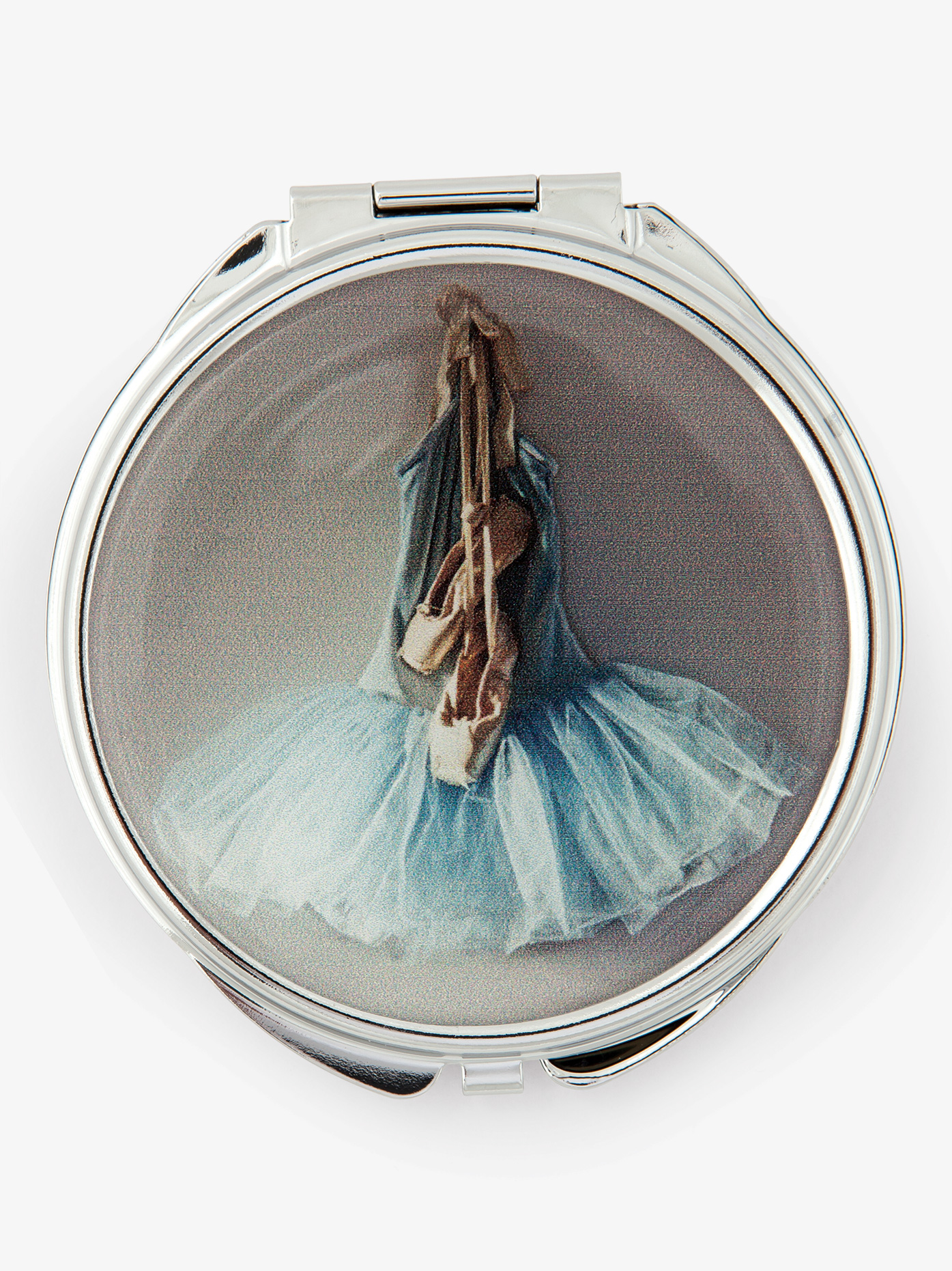Perry Blackburne Blue Tutu Compact Mirror CCM14BT