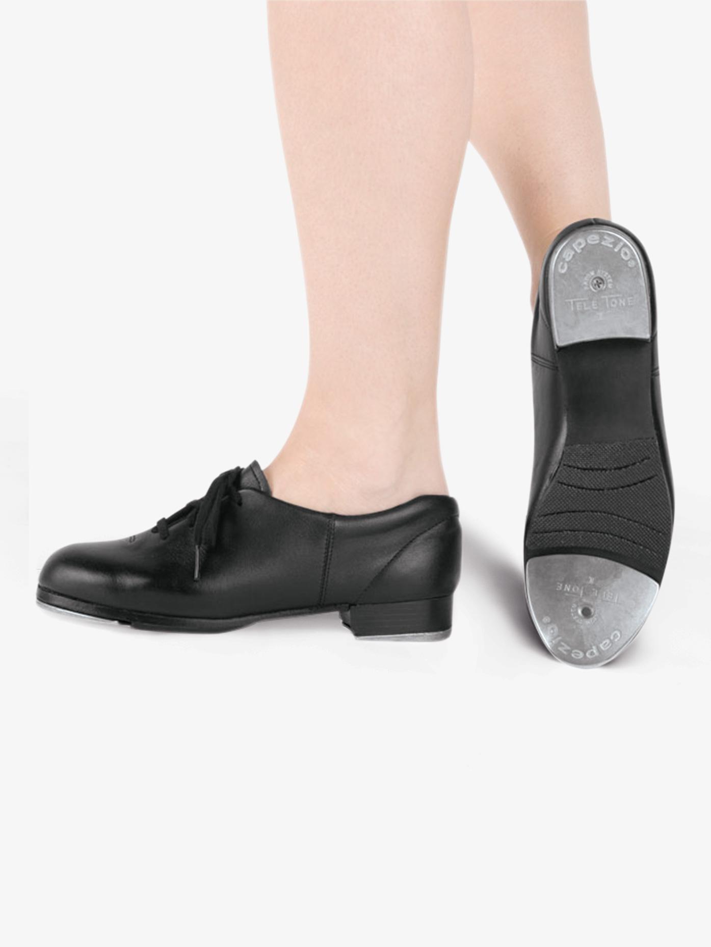 Capezio Adult Premiere Lace Up Tap Shoes CG09