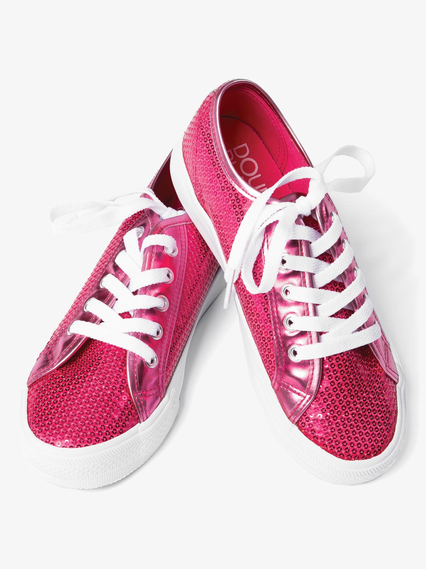 Double Platinum Girls Sequin Sneaker CHUXC
