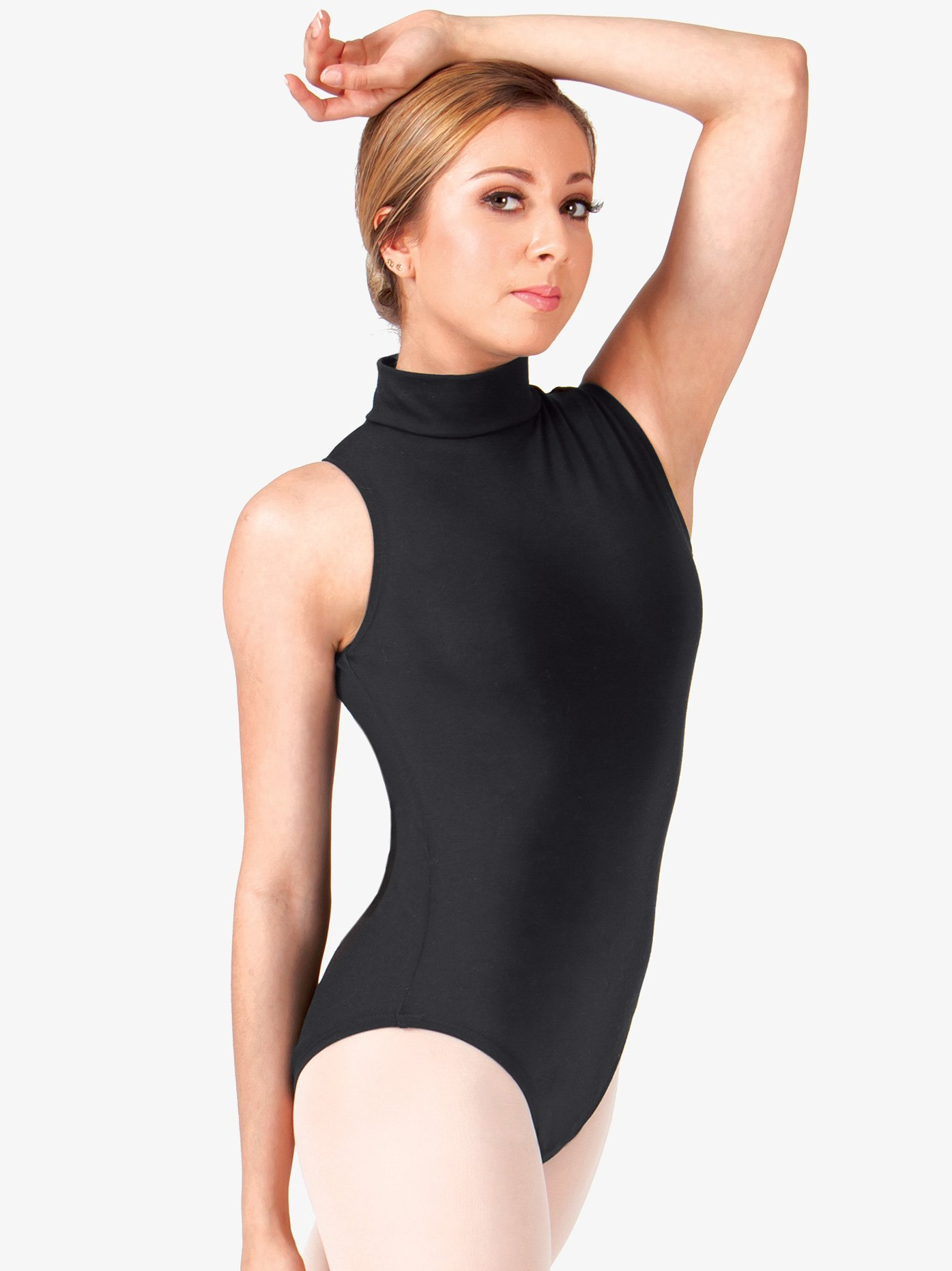 BalTogs Cotton Mock Neck Tank Leotard CL8709
