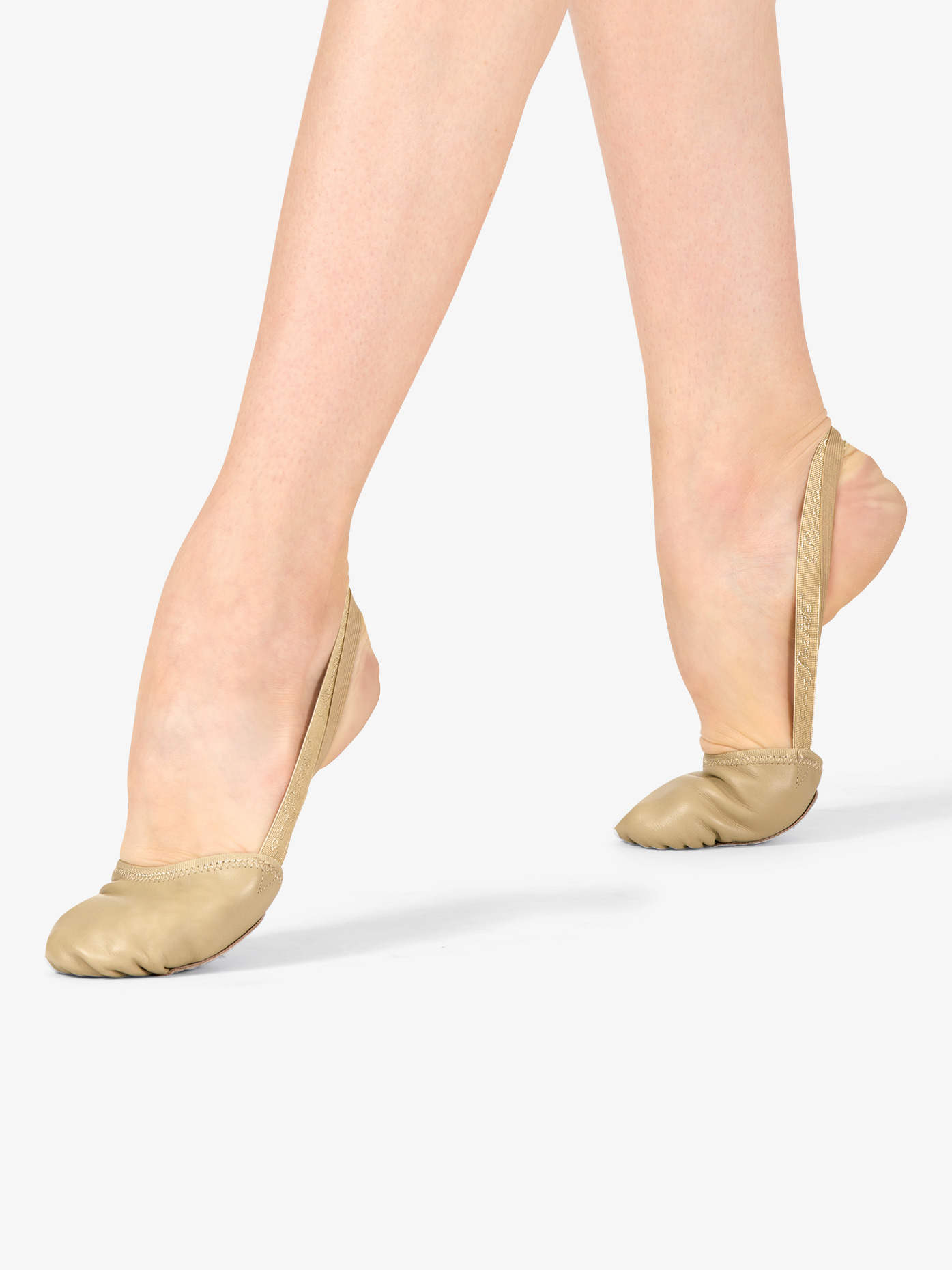 Russian Pointe Womens Compass Leather Lyrical Half Sole CPSS
