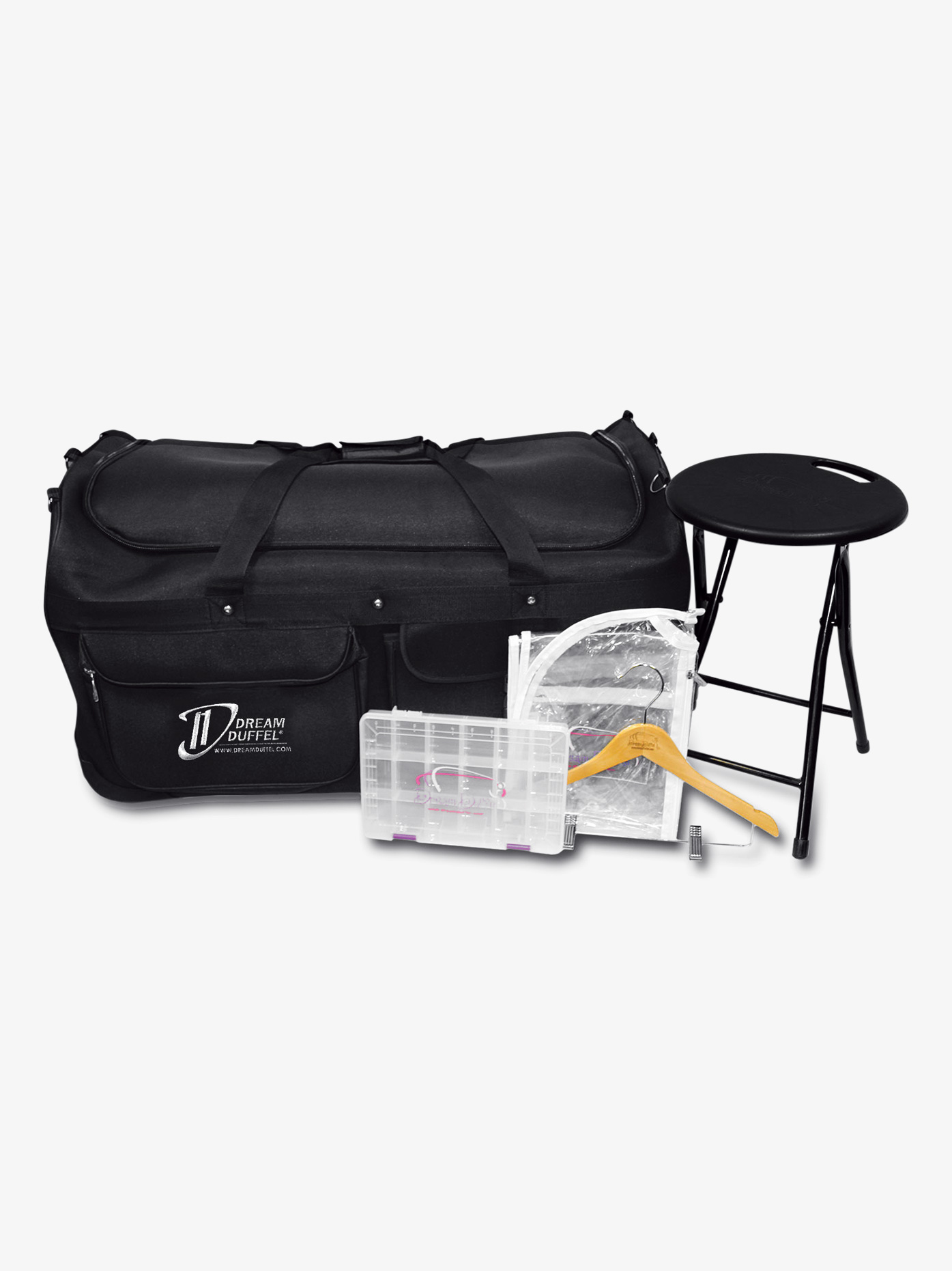 Dream Duffel Large Black Bag Complete Pack D1000CP