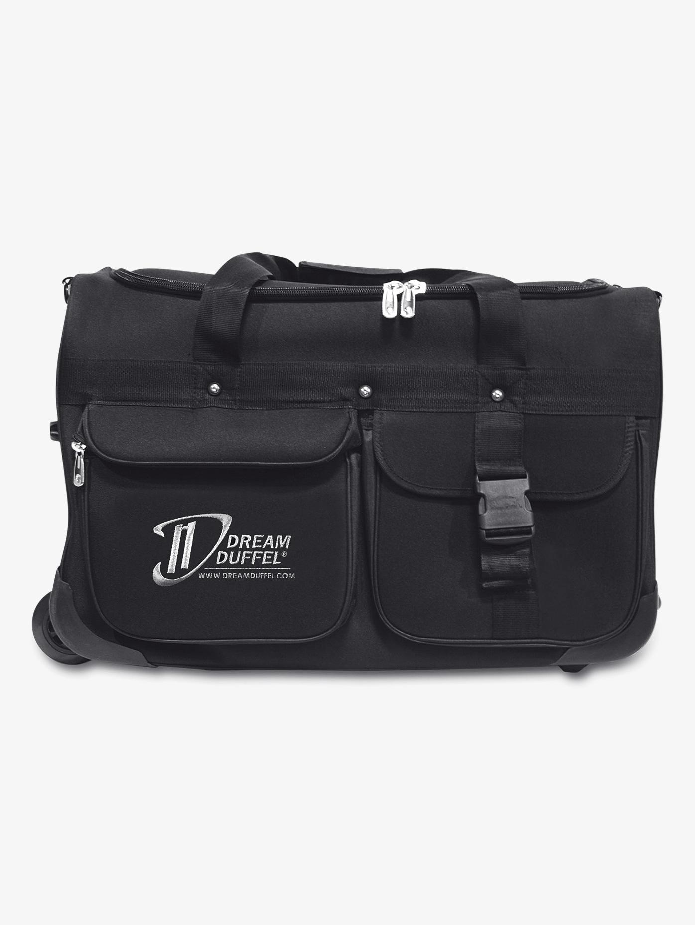 Dream Duffel Medium Black Bag D1100