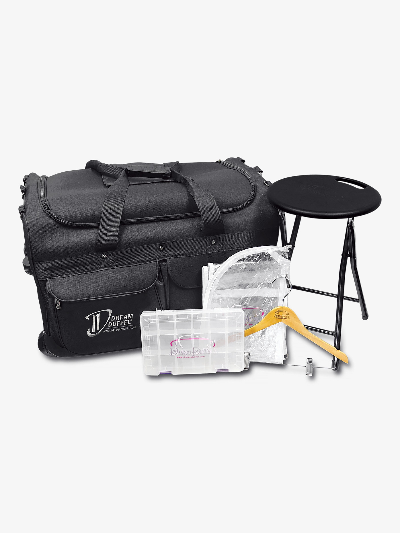Medium Black Bag Complete Pack Style No D1100cp Loading Zoom