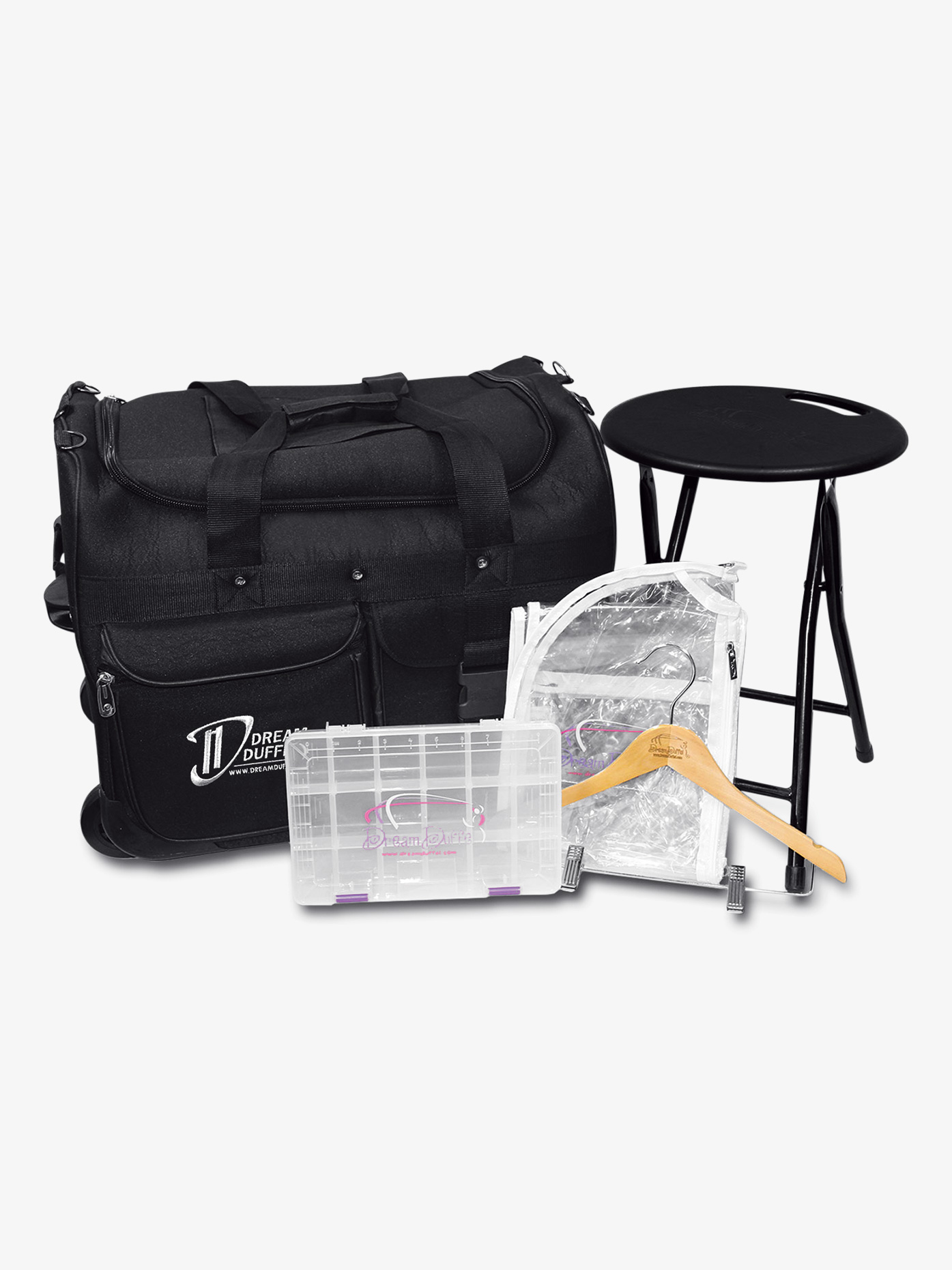 Dream Duffel Small Black Bag Complete Pack D1200CP