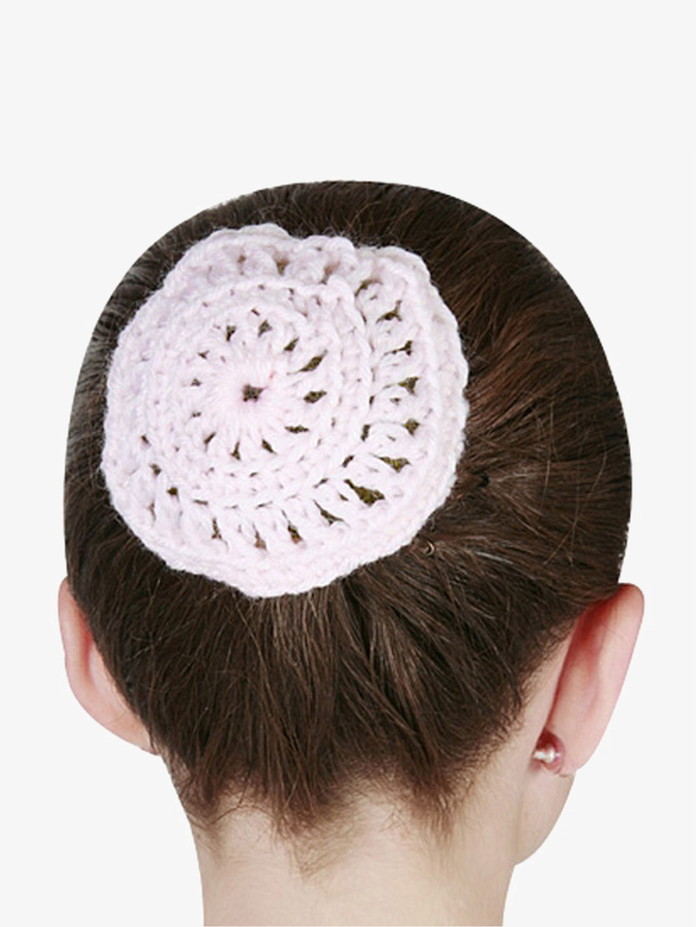 Dasha Crocheted Bun Cover D2122