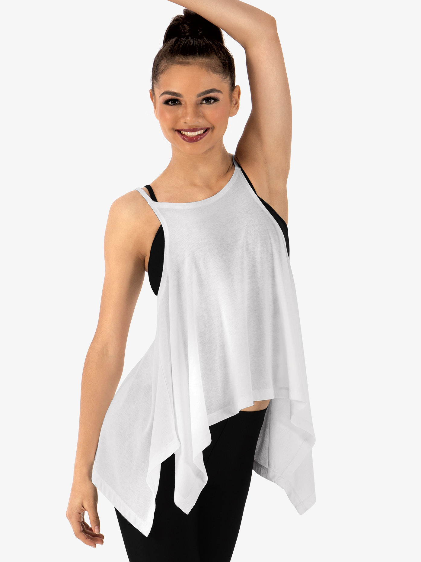 Dance Department Adult Asymmetrical Relaxed Camisole Top D3015