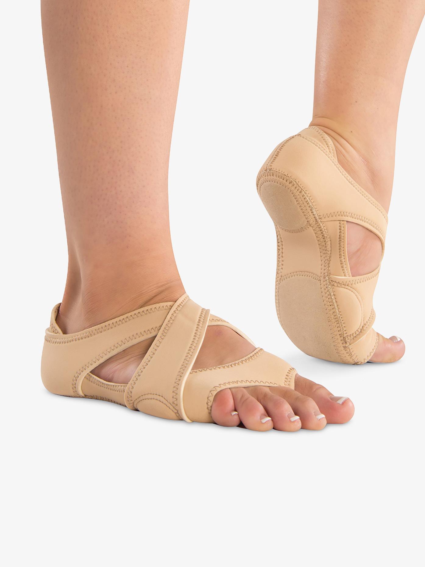 Danshuz Womens Neoprene Cross Wrap Dance Shoes D649