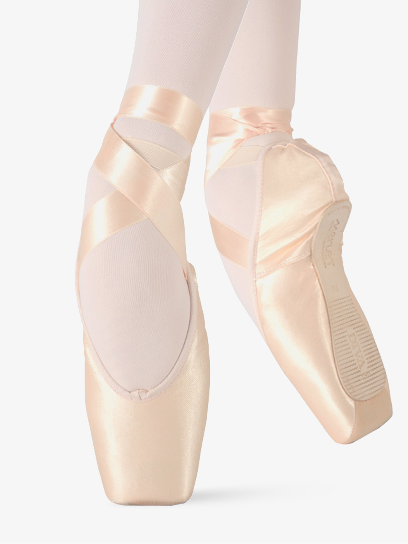 Merlet Womens Diva Suede Tip Pointe Shoes DIVA