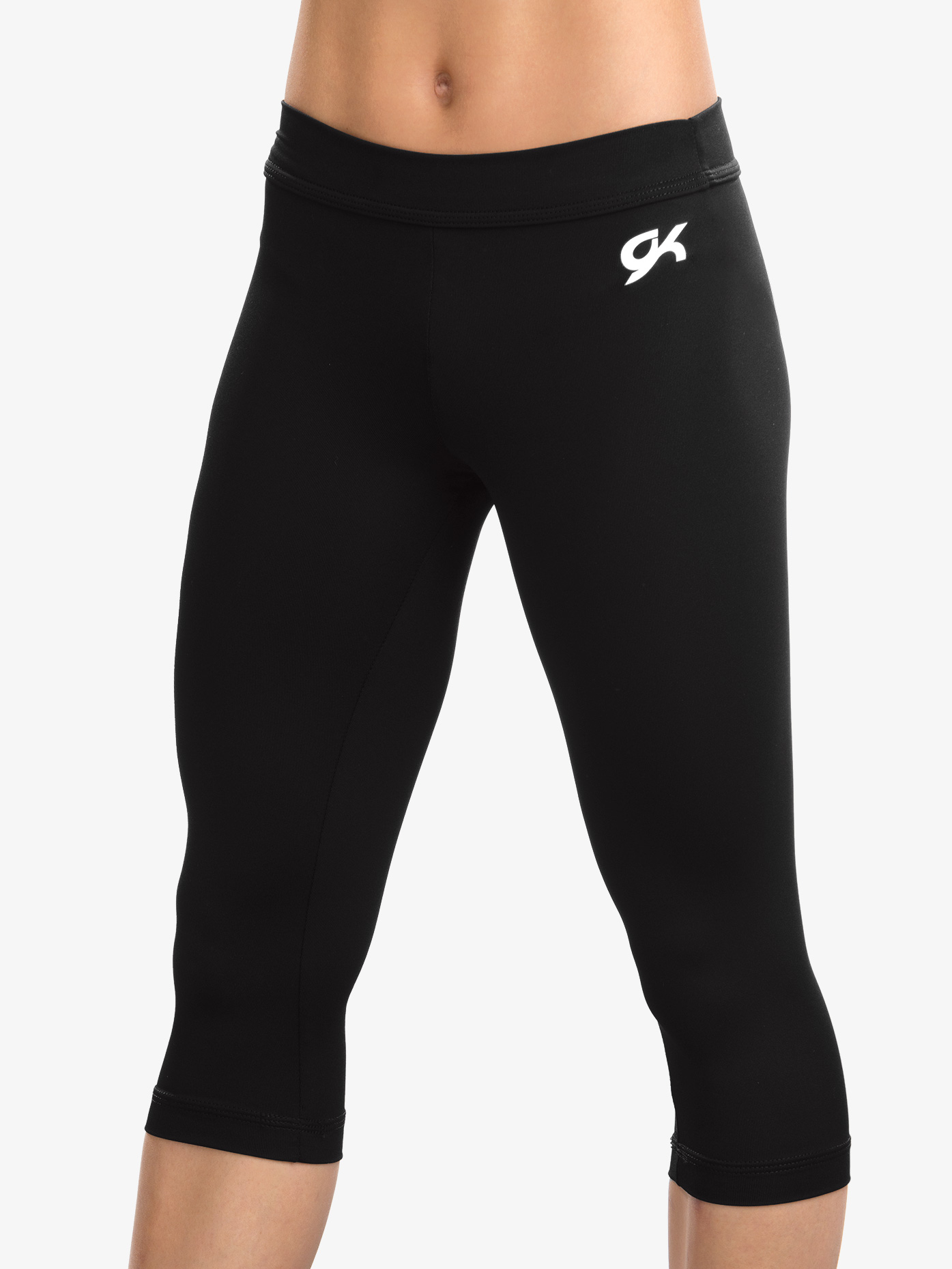 GK Elite Girls DryTech Capri Leggings E2259C