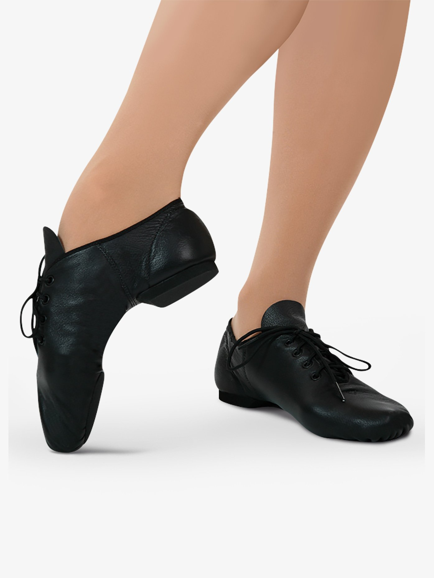 Capezio Child E-Series Lace Up Jazz Shoes EJ1C