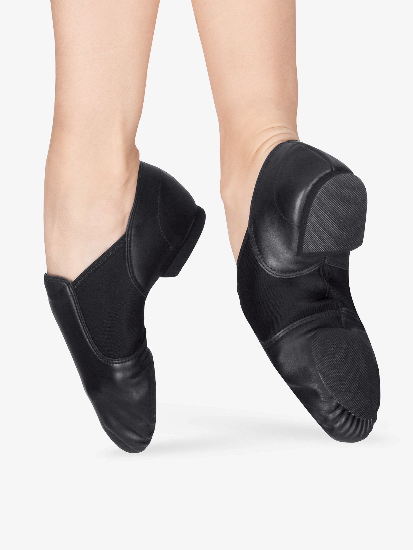 Capezio Child E-Series Slip-On Jazz Shoes EJ2C