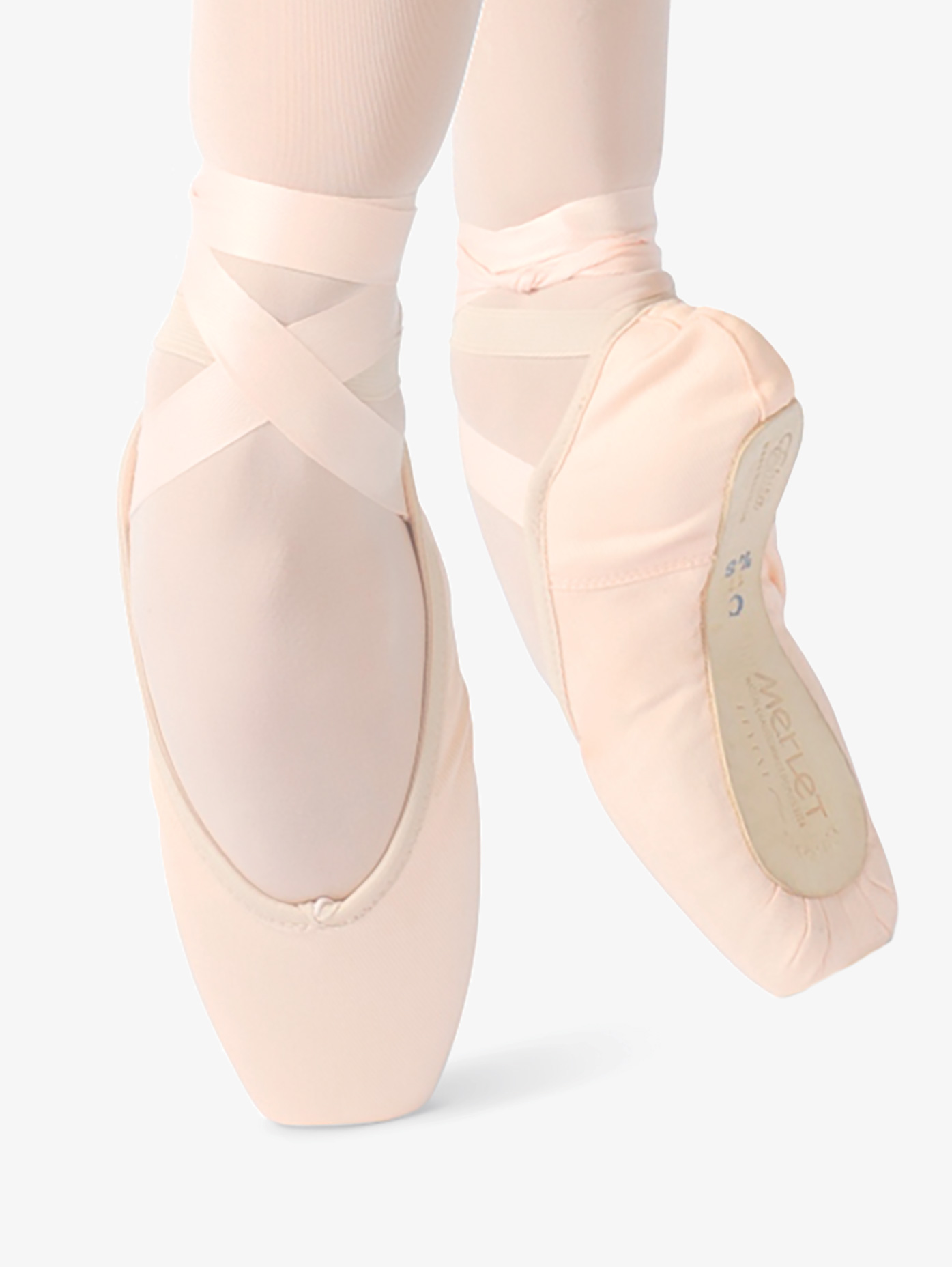 Merlet Womens Elista Canvas Pointe Shoes ELISTA